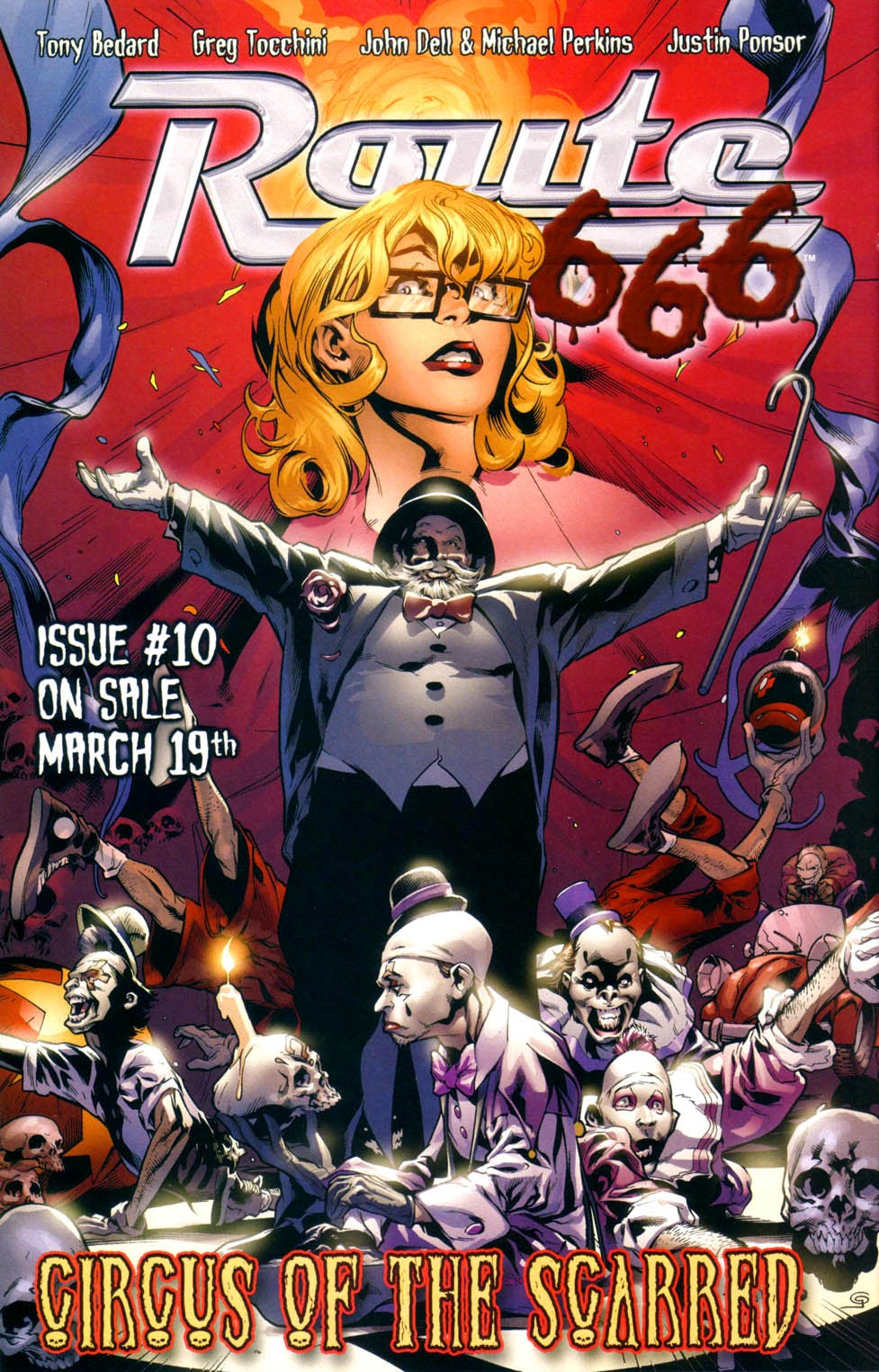 Read online Route 666 comic -  Issue #9 - 27