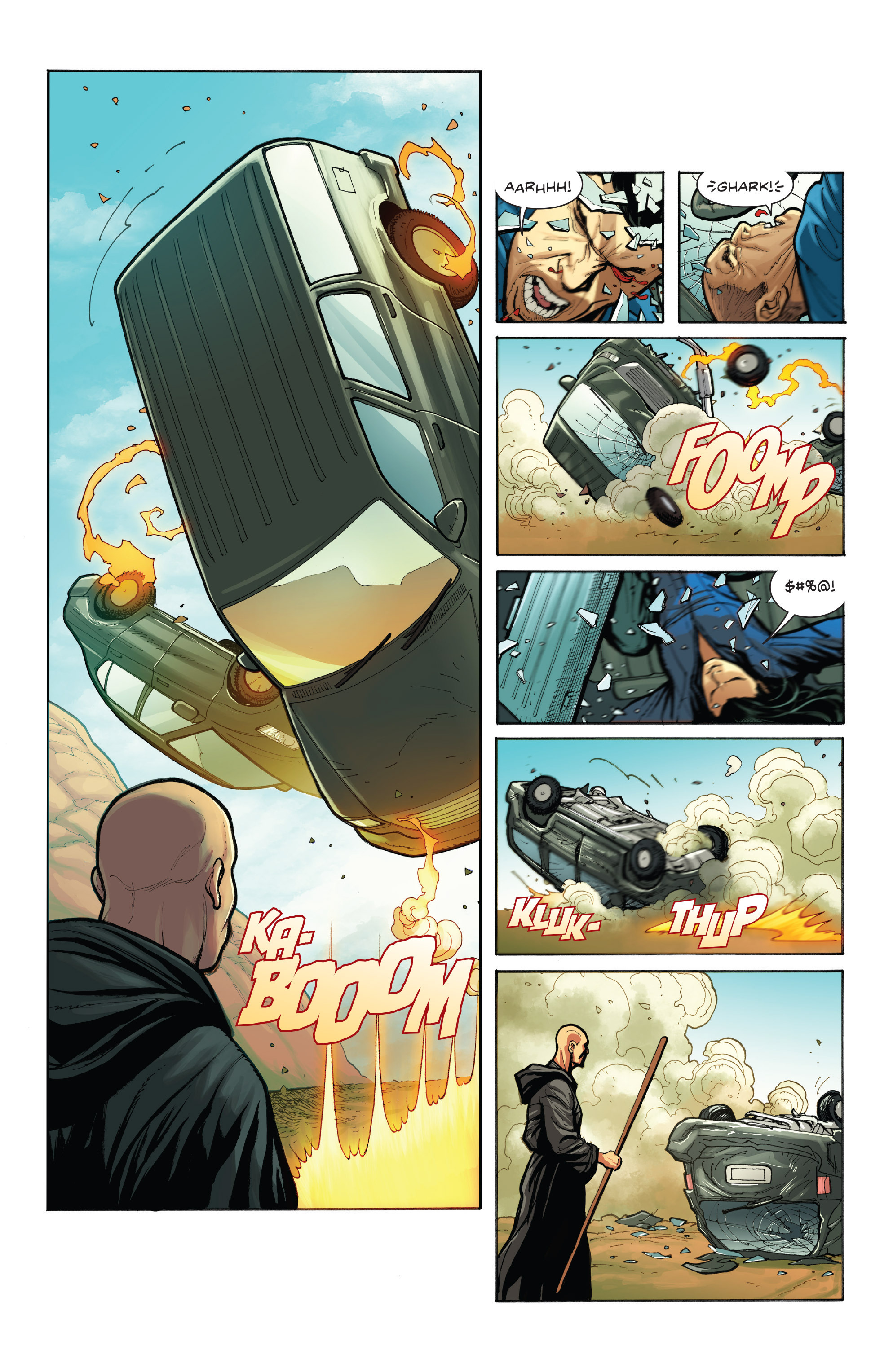 Read online Skybourne comic -  Issue #1 - 20
