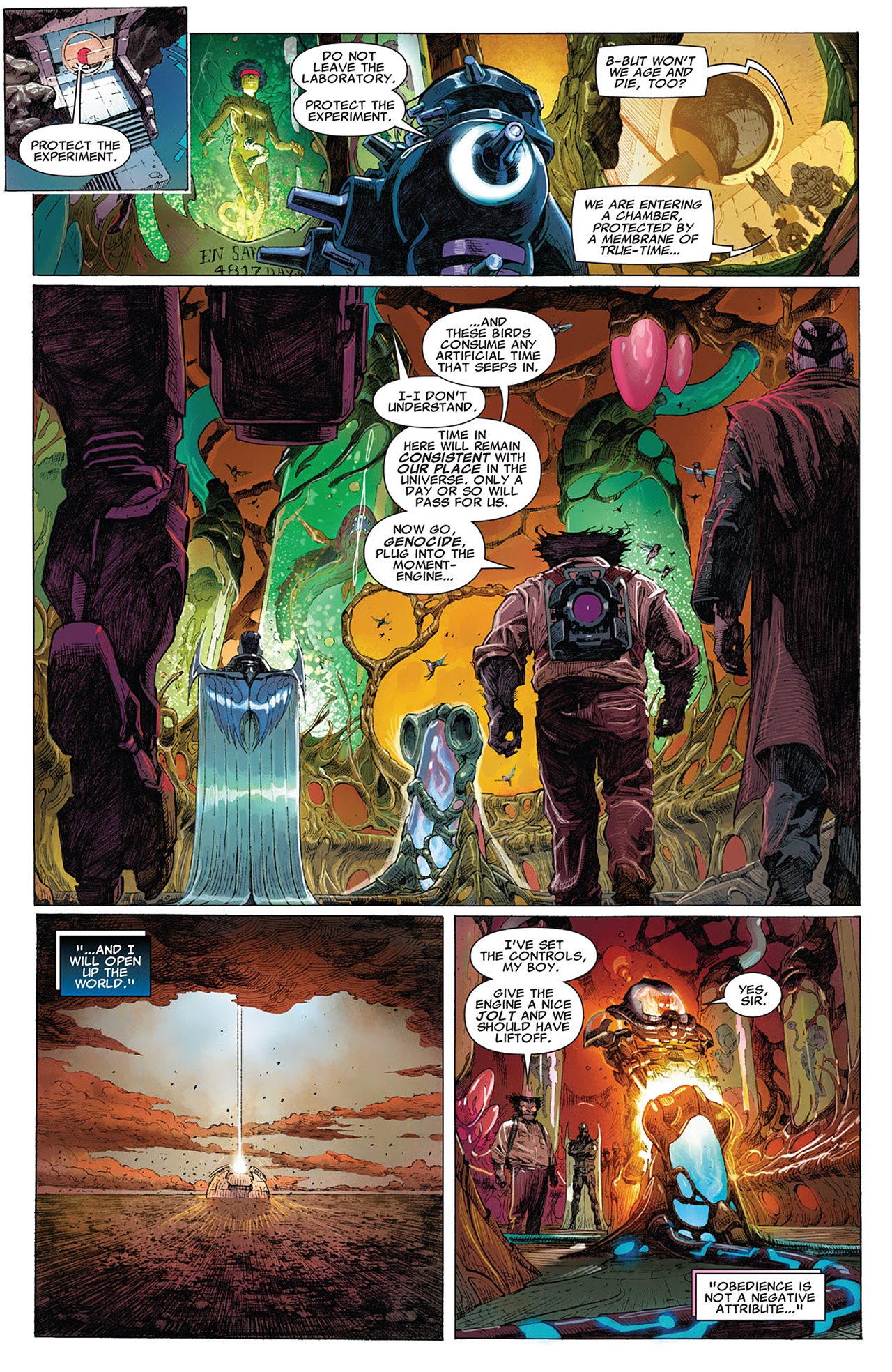 Read online Uncanny X-Force (2010) comic -  Issue #15 - 6