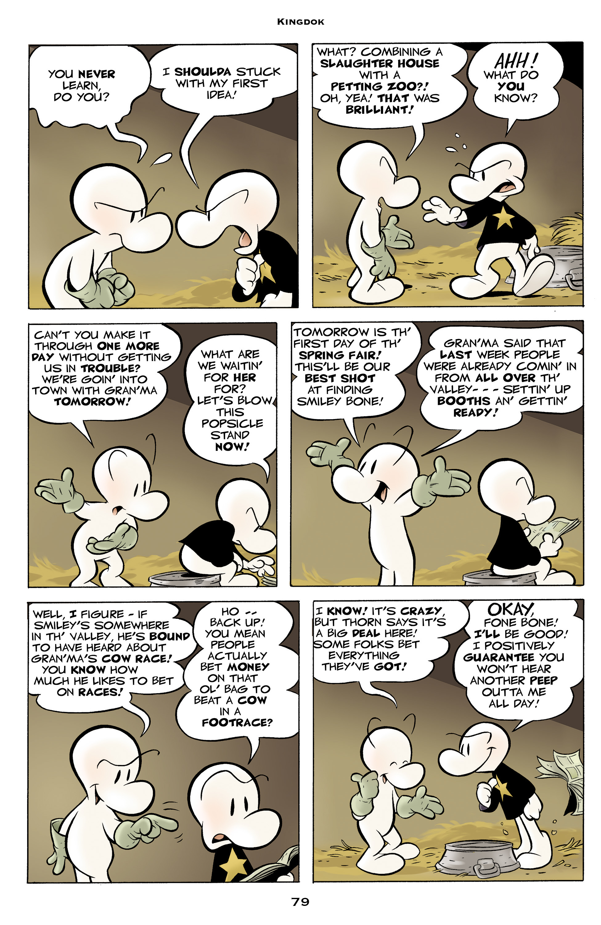 Read online Bone: Out From Boneville comic -  Issue # TPB - 79