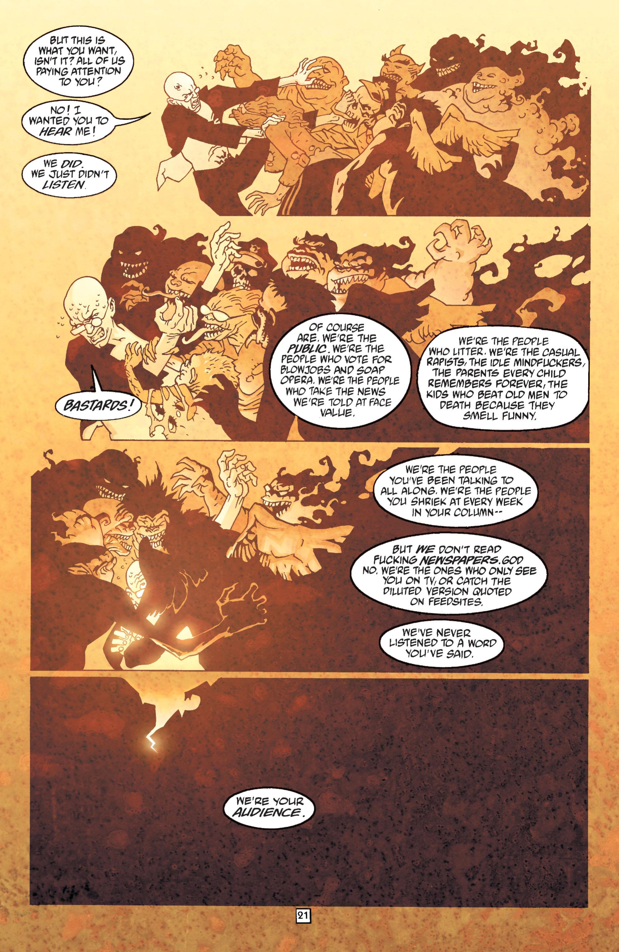 Read online Transmetropolitan comic -  Issue #31 - 22