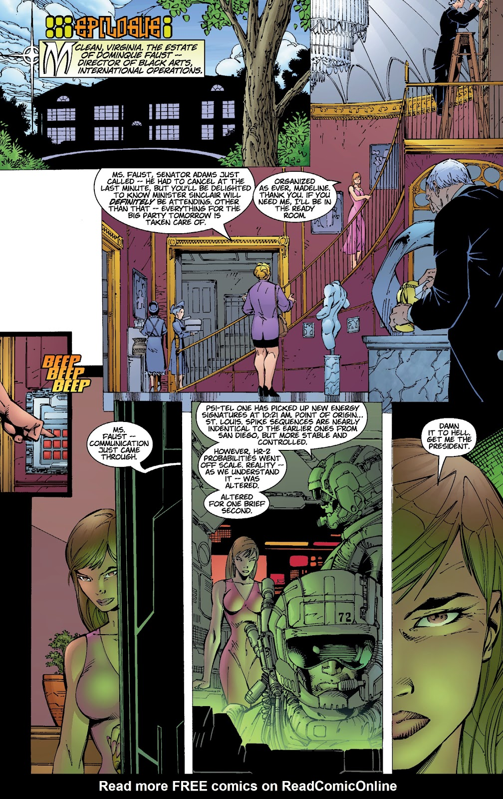 Read online Divine Right comic -  Issue # _TPB The Adventures of Max Faraday (Part 2) - 22
