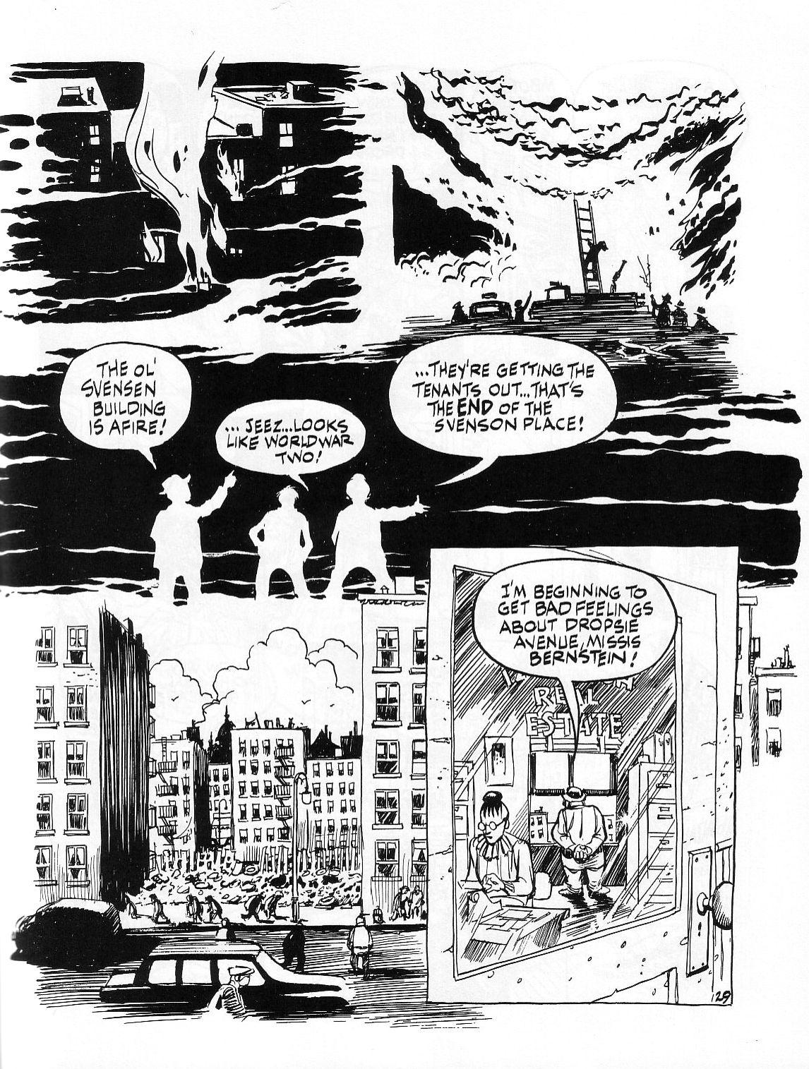 Read online Dropsie Avenue, The Neighborhood comic -  Issue # Full - 131