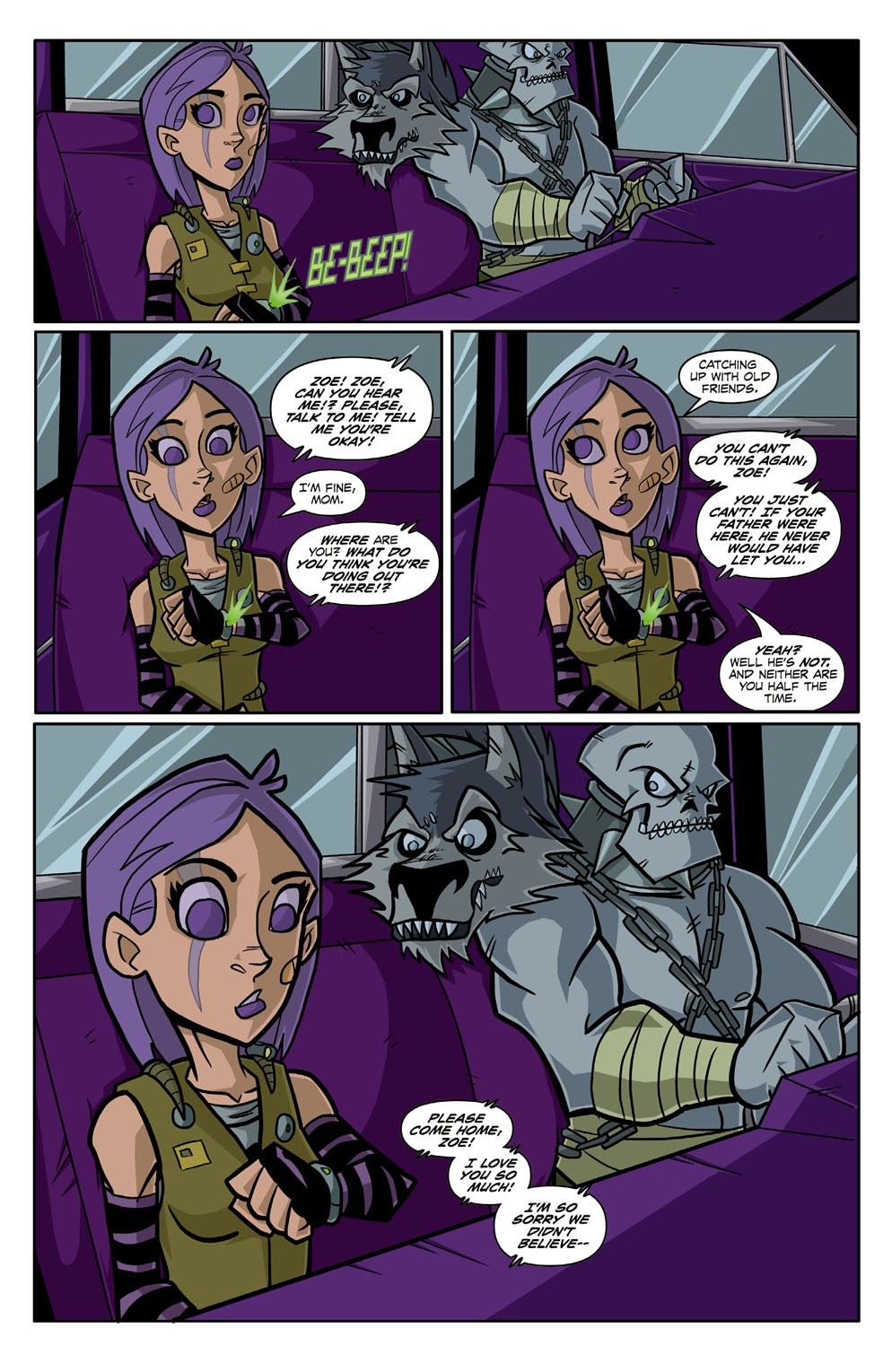 Read online Xombie Reanimated comic -  Issue #2 - 14