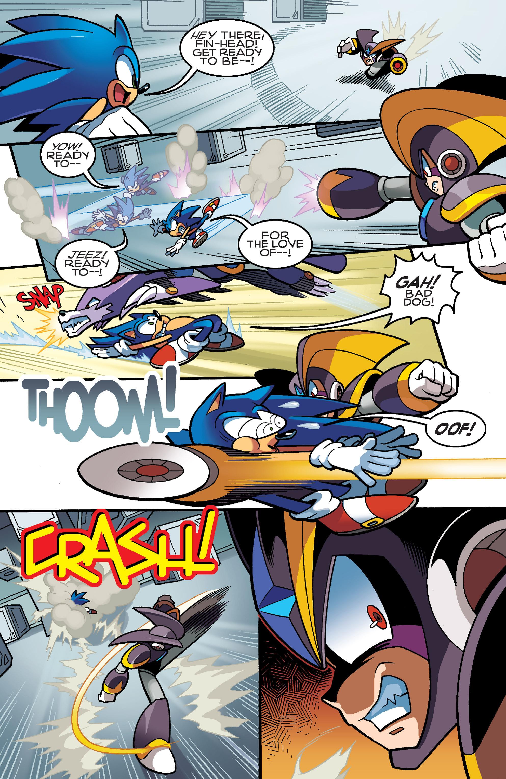 Read online Sonic Mega Man Worlds Collide comic -  Issue # Vol 3 - 79