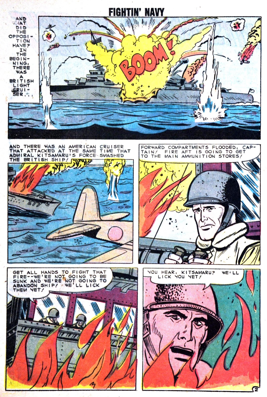 Read online Fightin' Navy comic -  Issue #89 - 20
