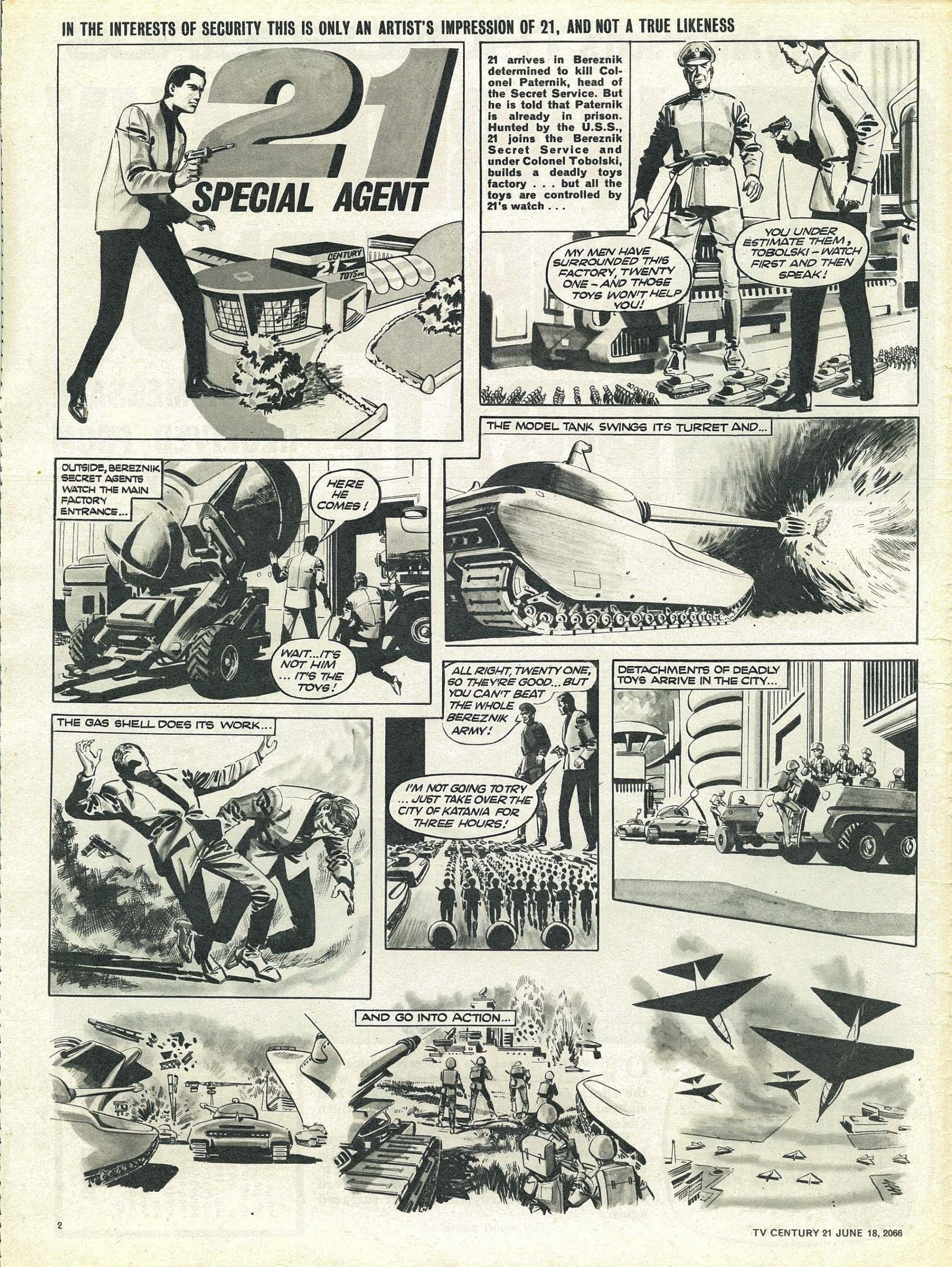 Read online TV Century 21 (TV 21) comic -  Issue #74 - 2