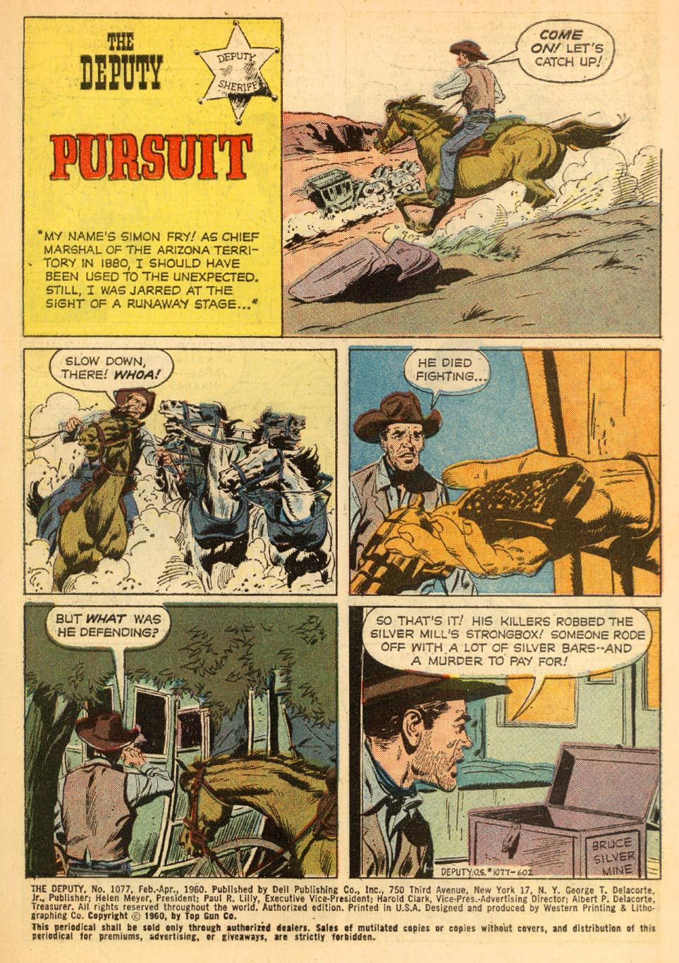 Four Color Comics issue 1077 - Page 3