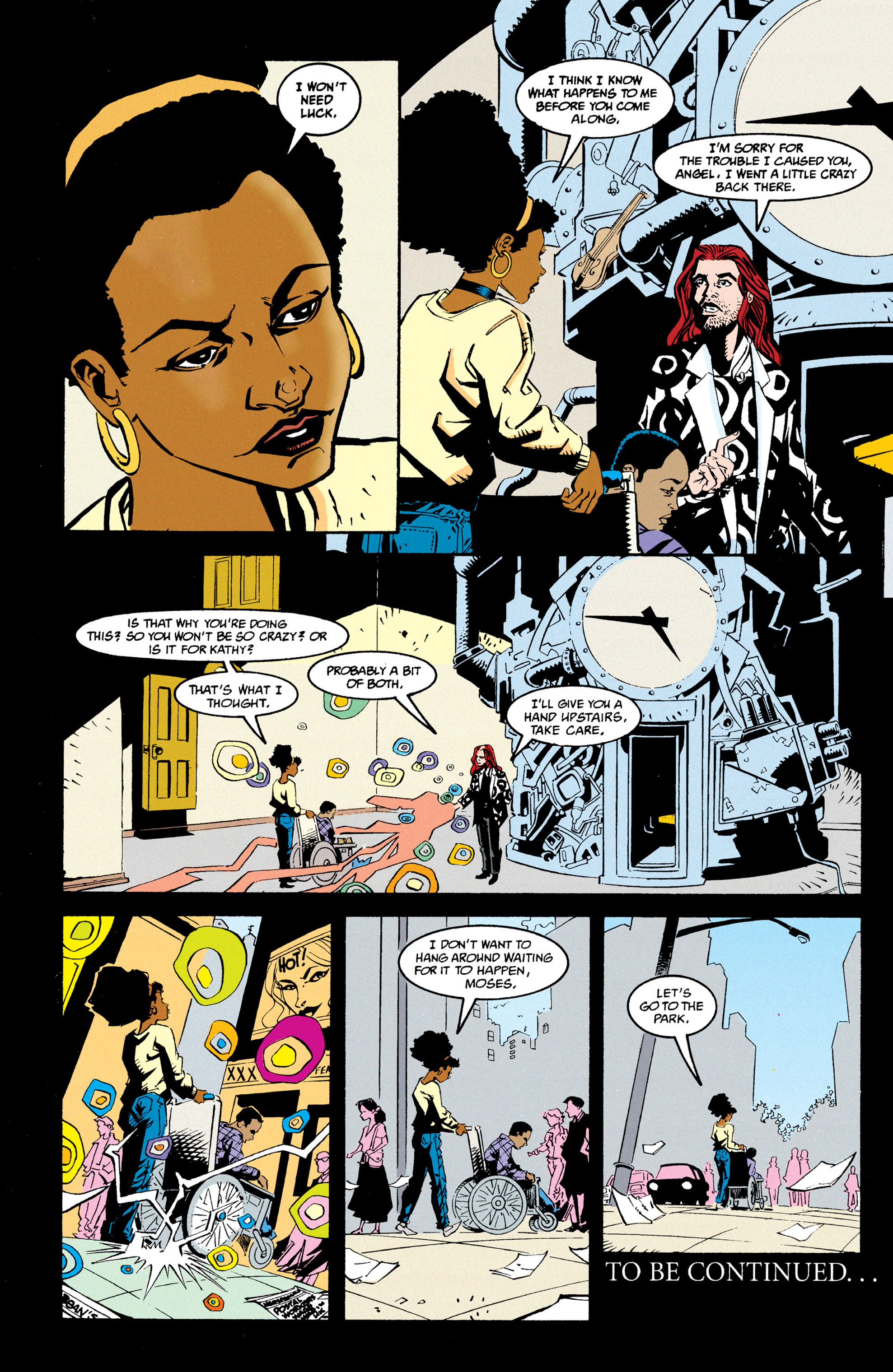 Read online Shade, the Changing Man comic -  Issue #68 - 24