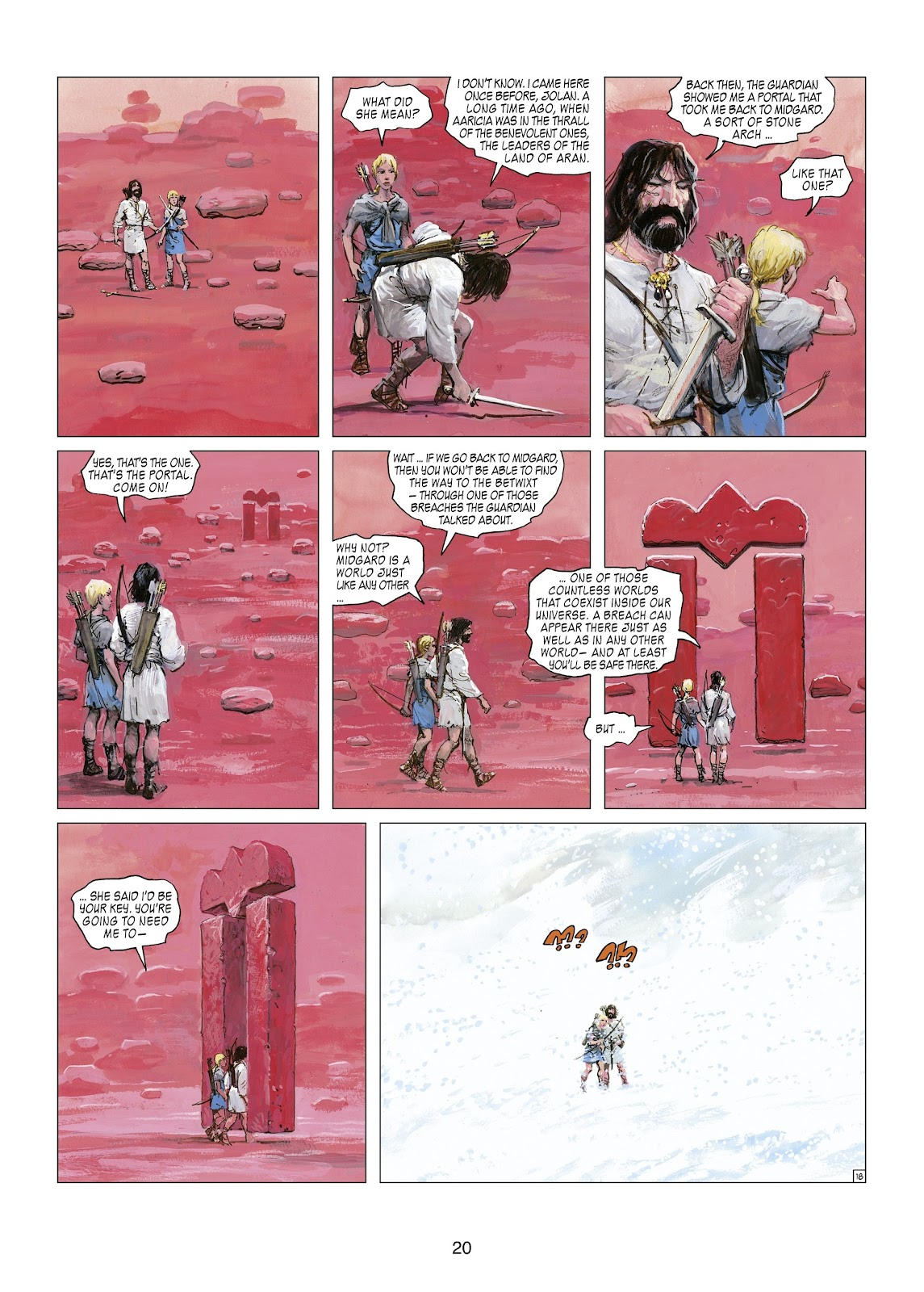 Read online Thorgal comic -  Issue #21 - 22