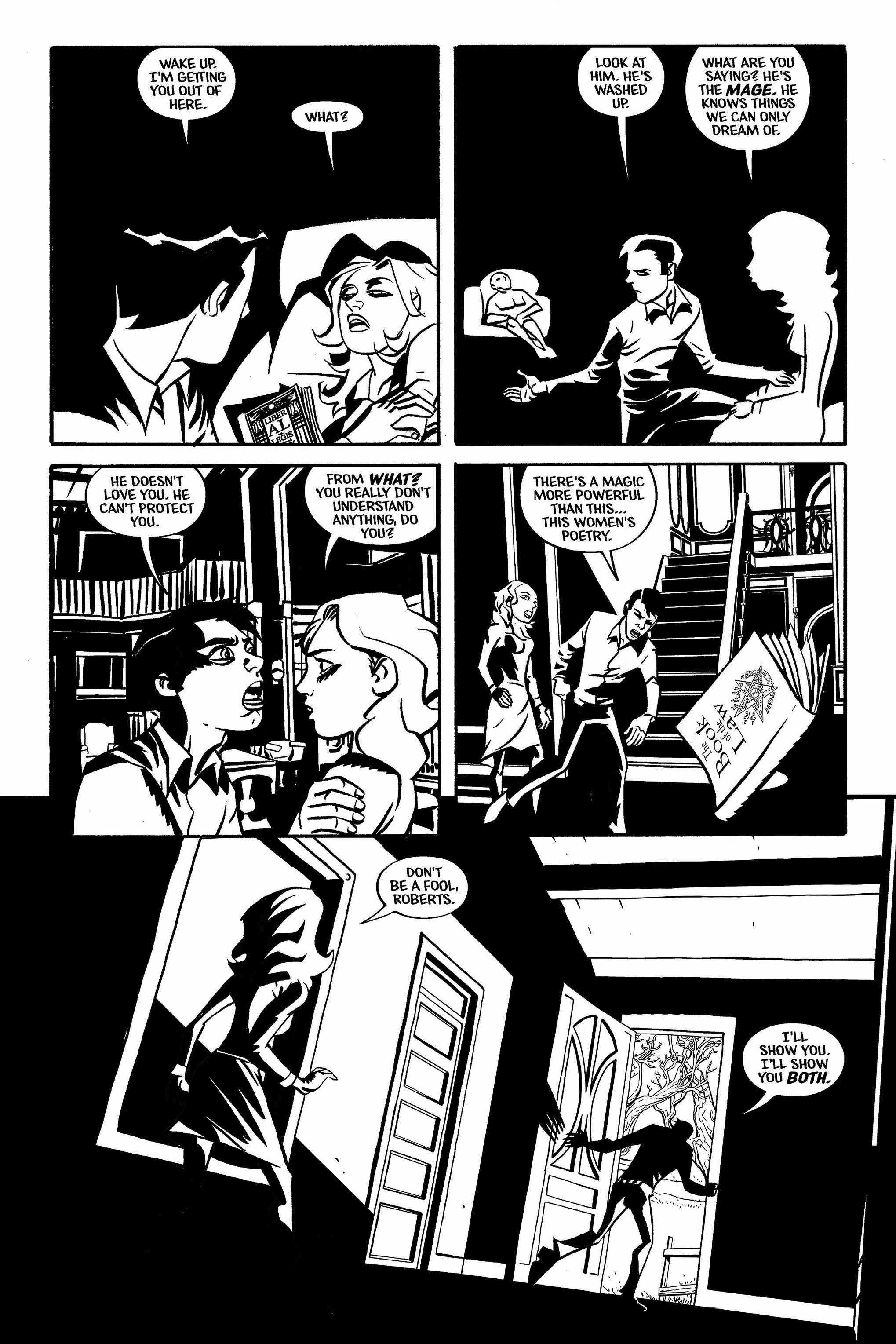 Read online Aleister & Adolf comic -  Issue # TPB - 58