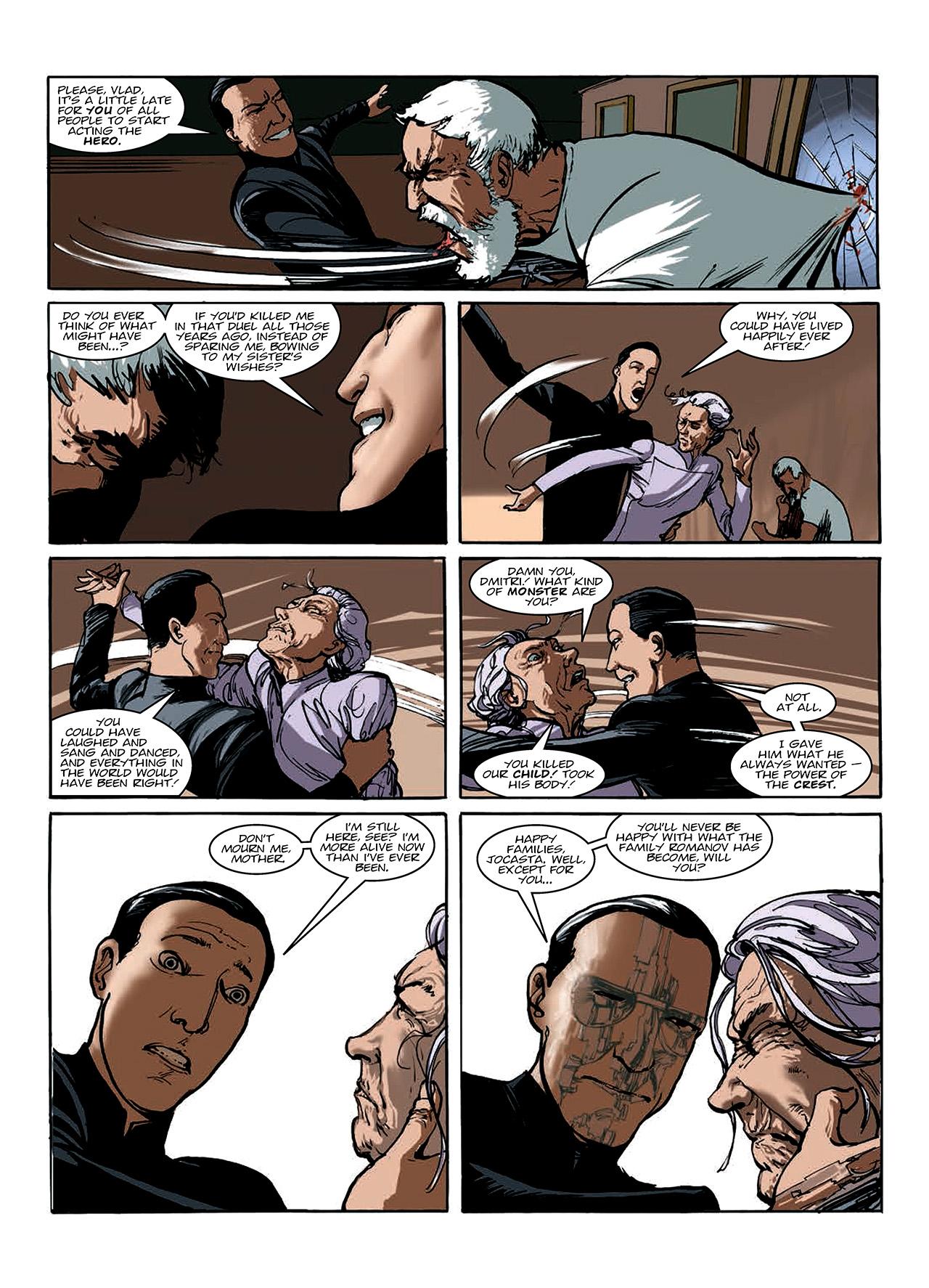 Read online Nikolai Dante comic -  Issue # TPB 10 - 107