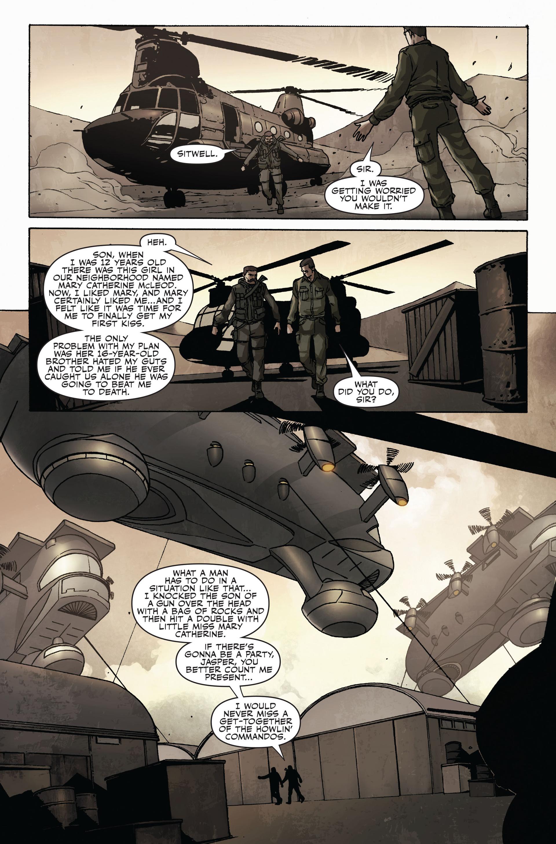 Read online Secret Warriors comic -  Issue #17 - 10