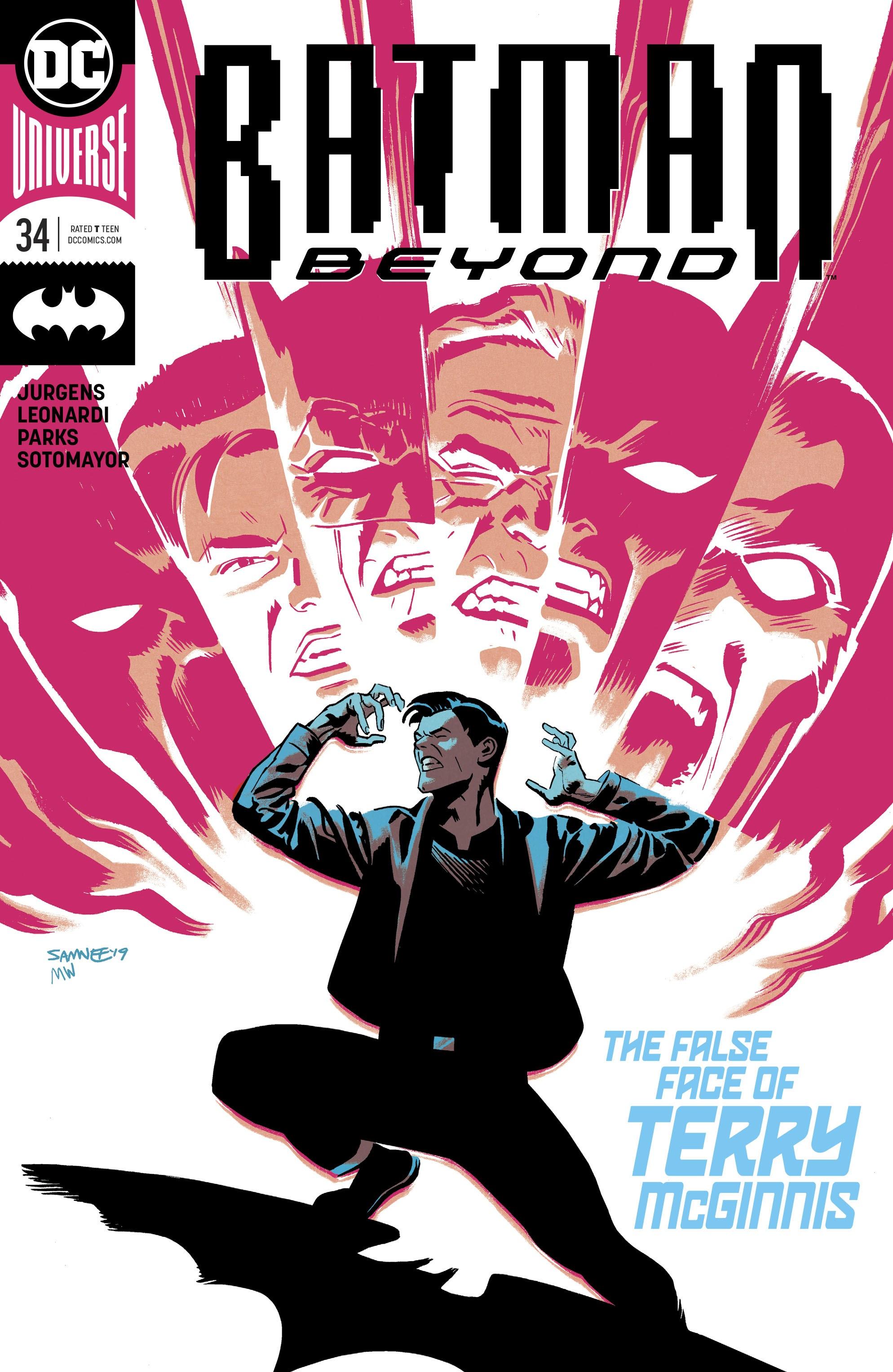 Batman Beyond (2016) 34 Page 1