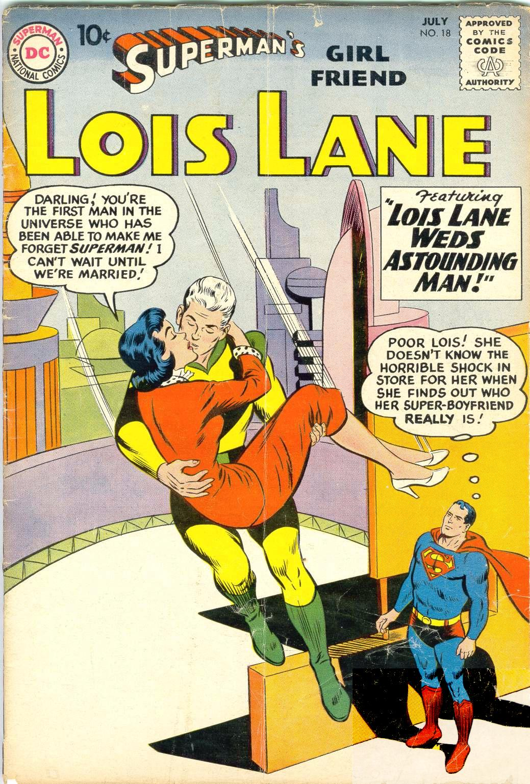Supermans Girl Friend, Lois Lane 18 Page 1