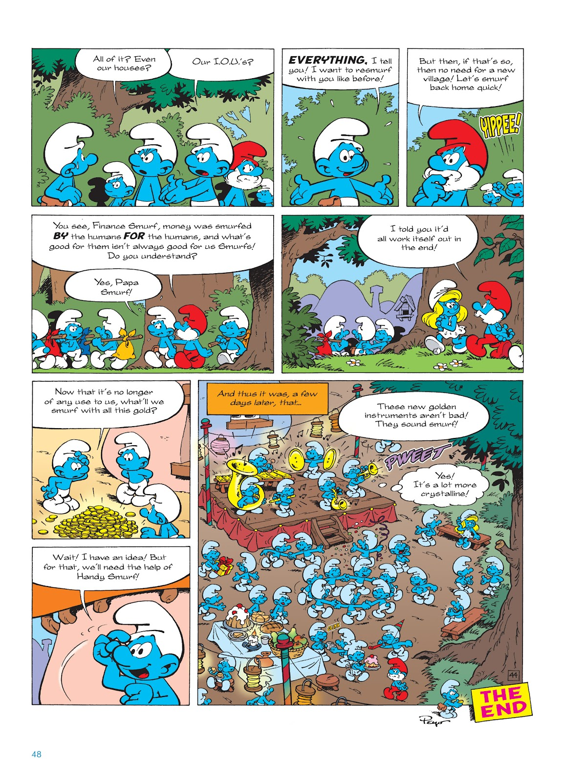 Read online The Smurfs comic -  Issue #18 - 48