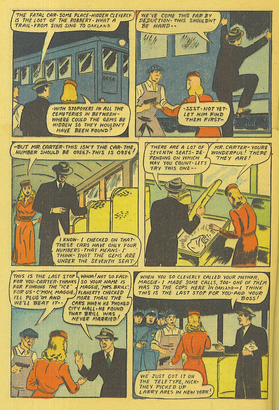 Read online Shadow Comics comic -  Issue #71 - 23