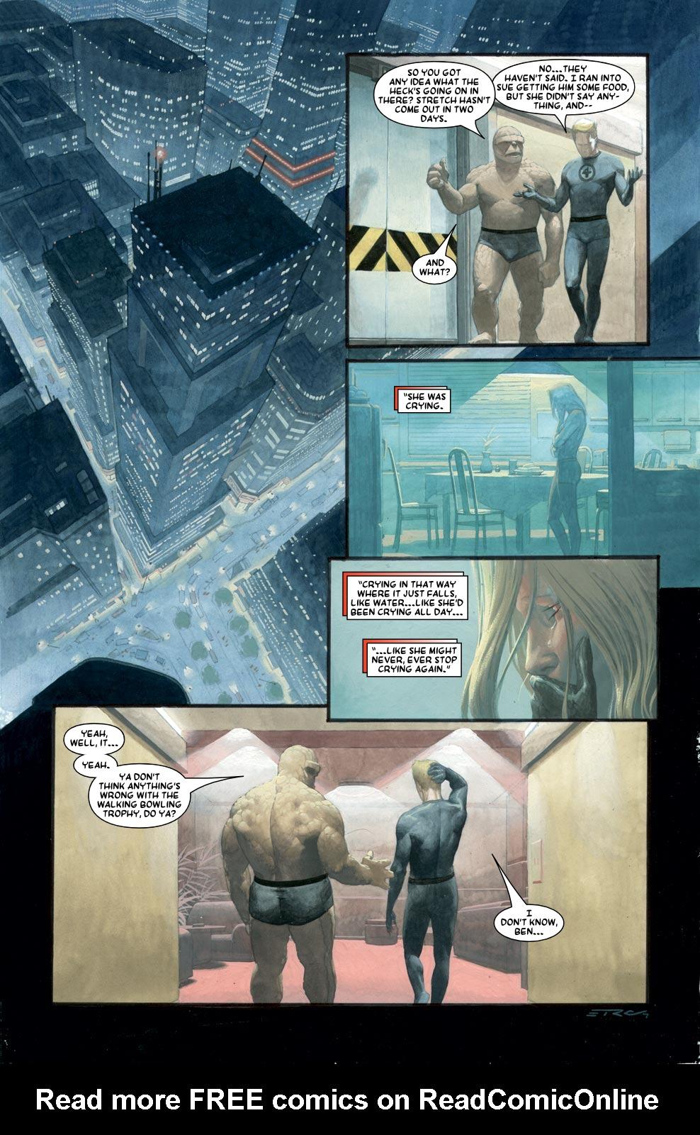 Read online Silver Surfer: Requiem comic -  Issue #1 - 9