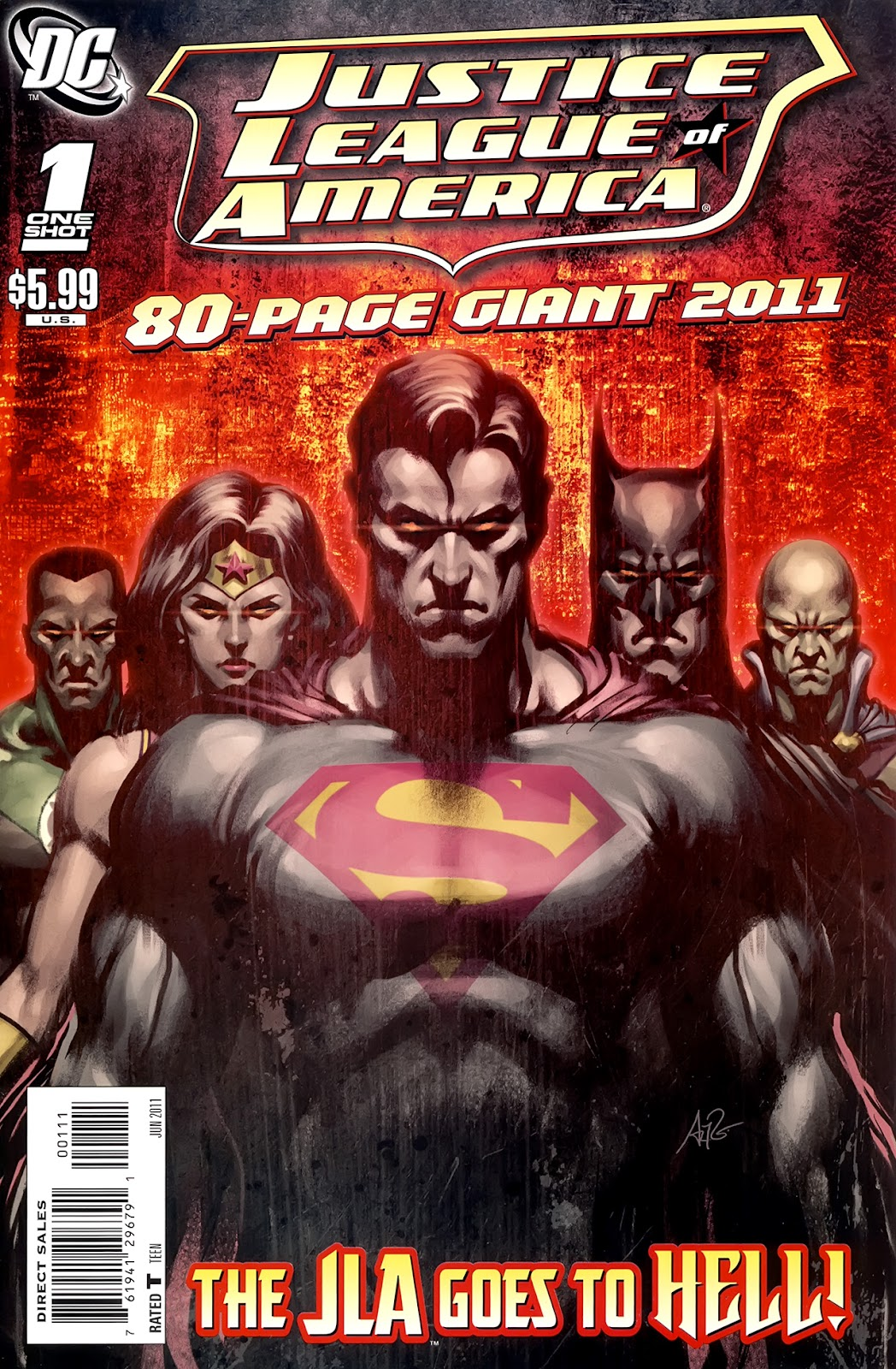 Read online JLA 80-Page Giant 2011 comic -  Issue # Full - 1