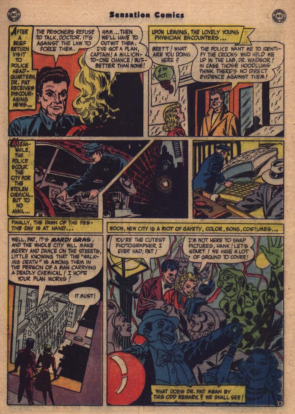 Read online Sensation (Mystery) Comics comic -  Issue #103 - 27