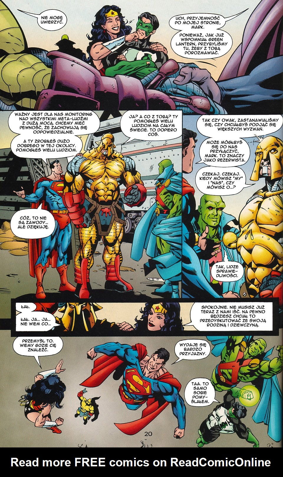 Read online JLA Superpower comic -  Issue # Full - 21