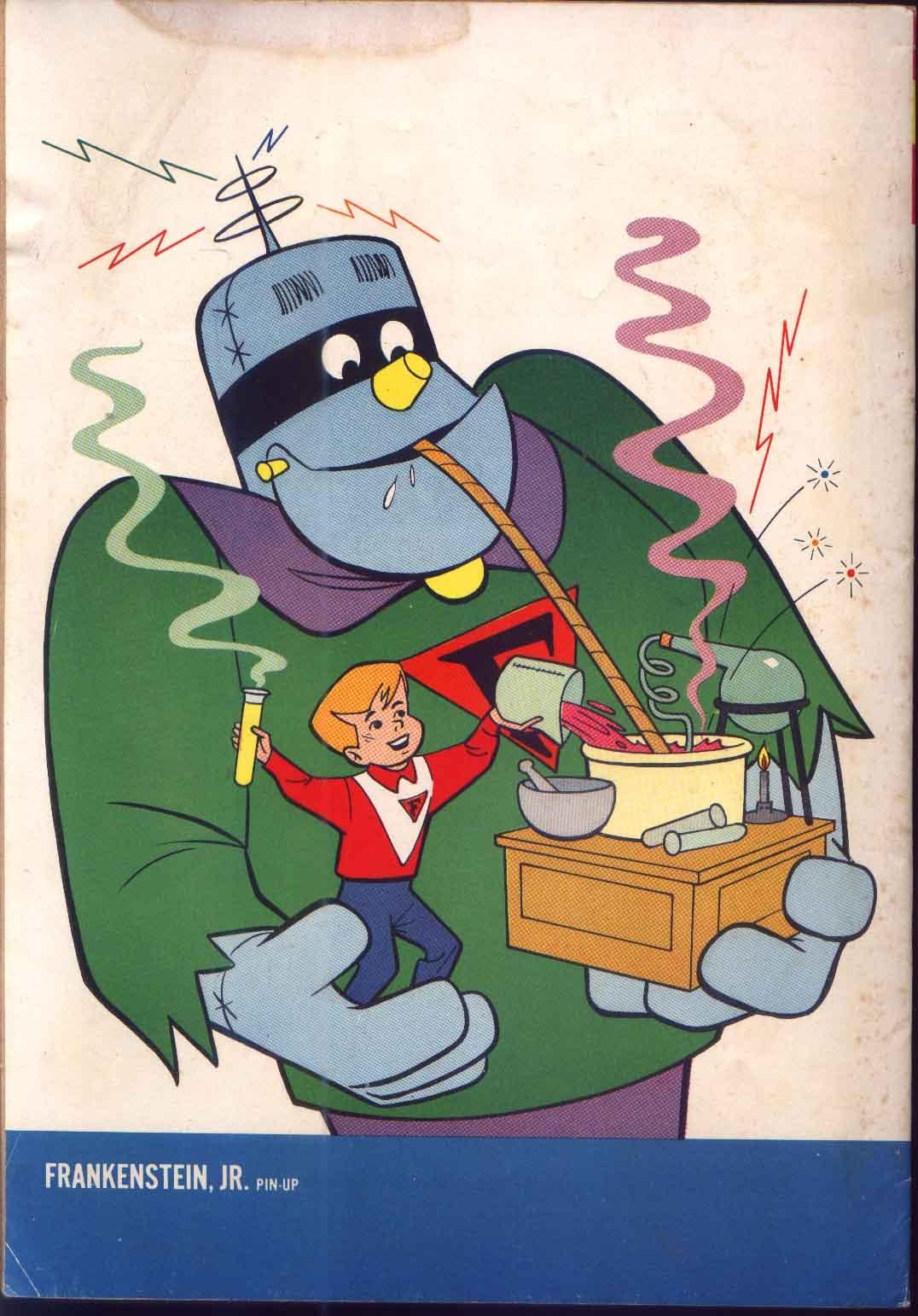 Read online Frankenstein, Jr. comic -  Issue # Full - 36
