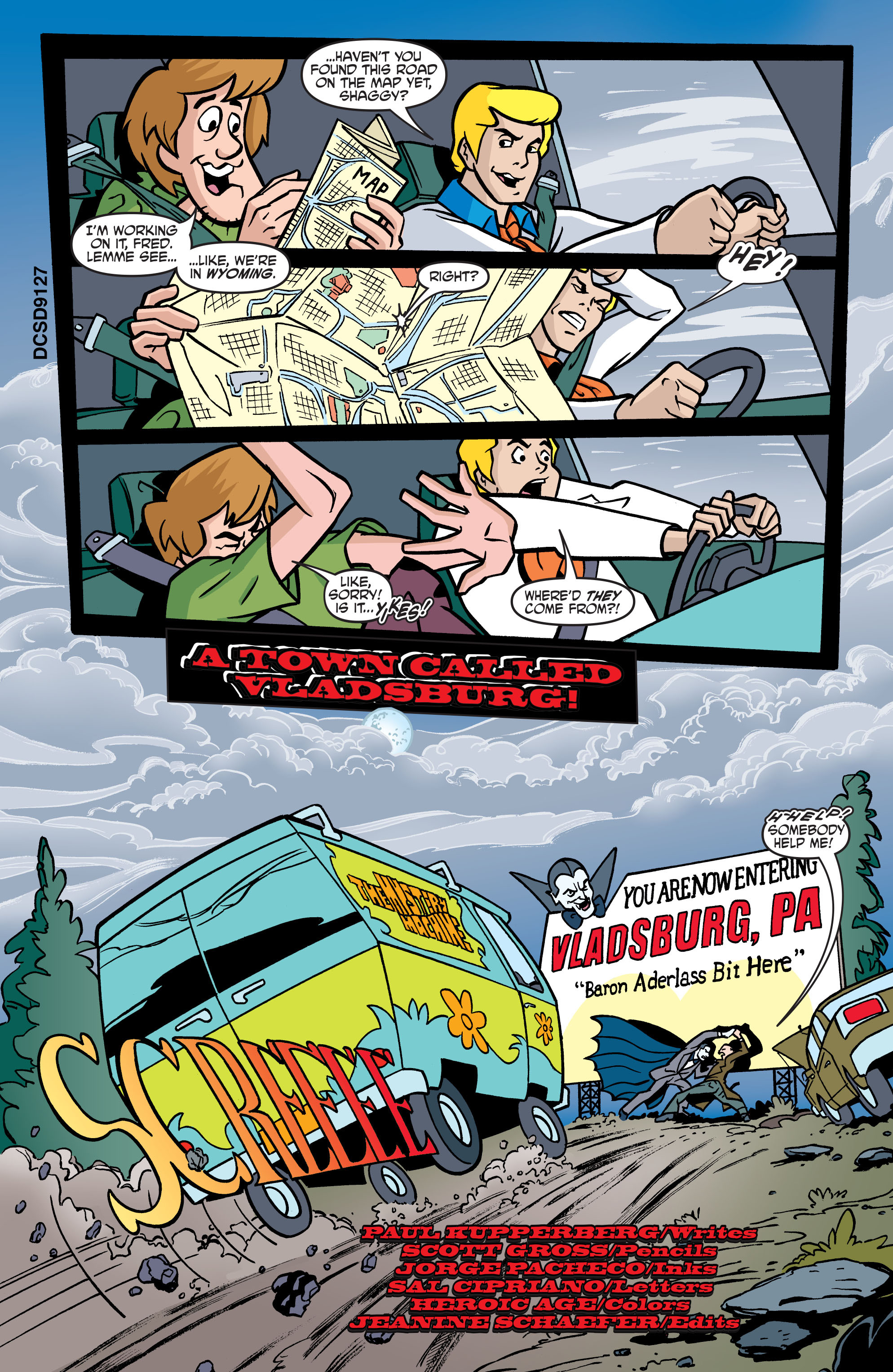 Read online Scooby-Doo: Where Are You? comic -  Issue #57 - 12