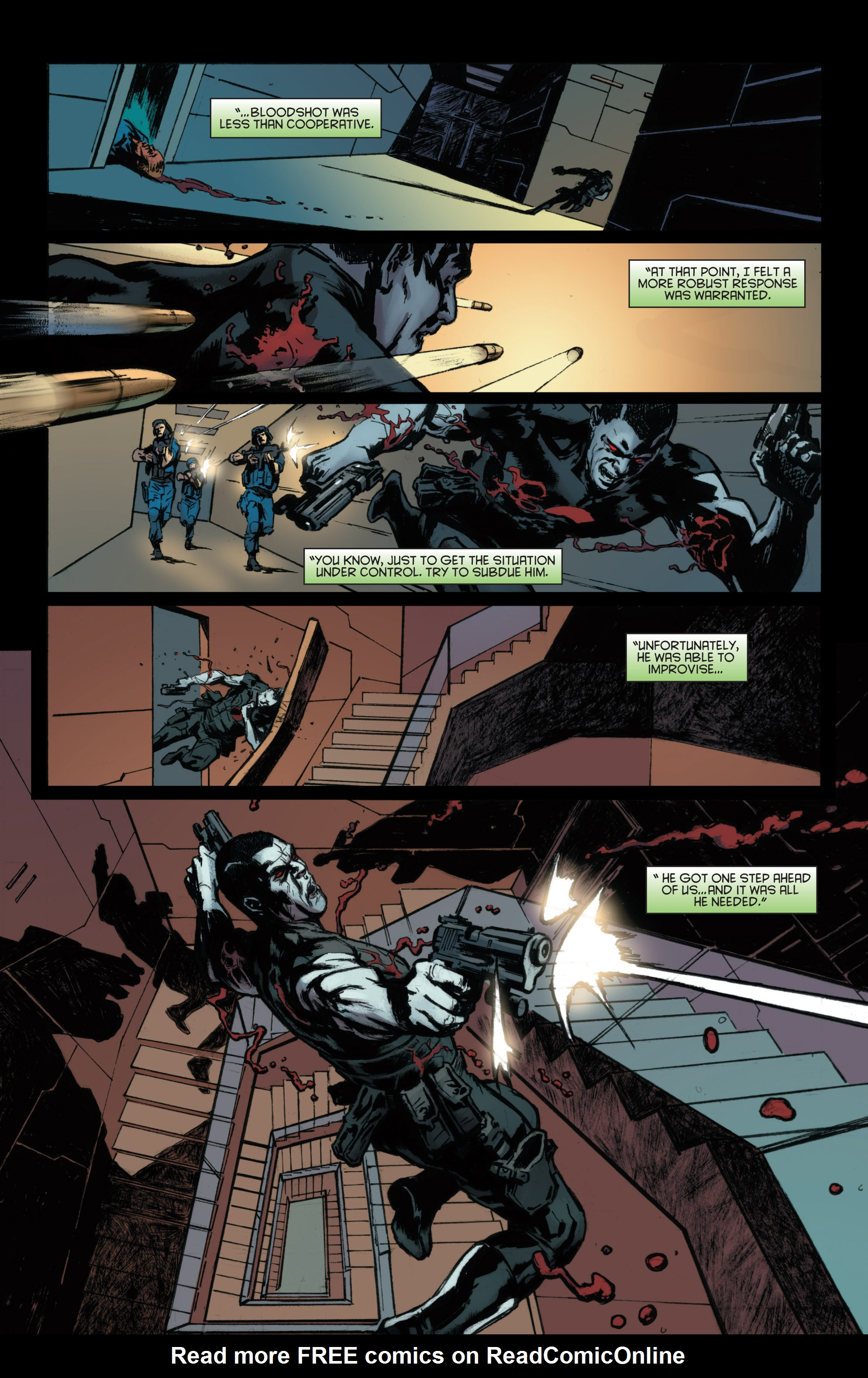 Read online Bloodshot and H.A.R.D.Corps comic -  Issue #22 - 7