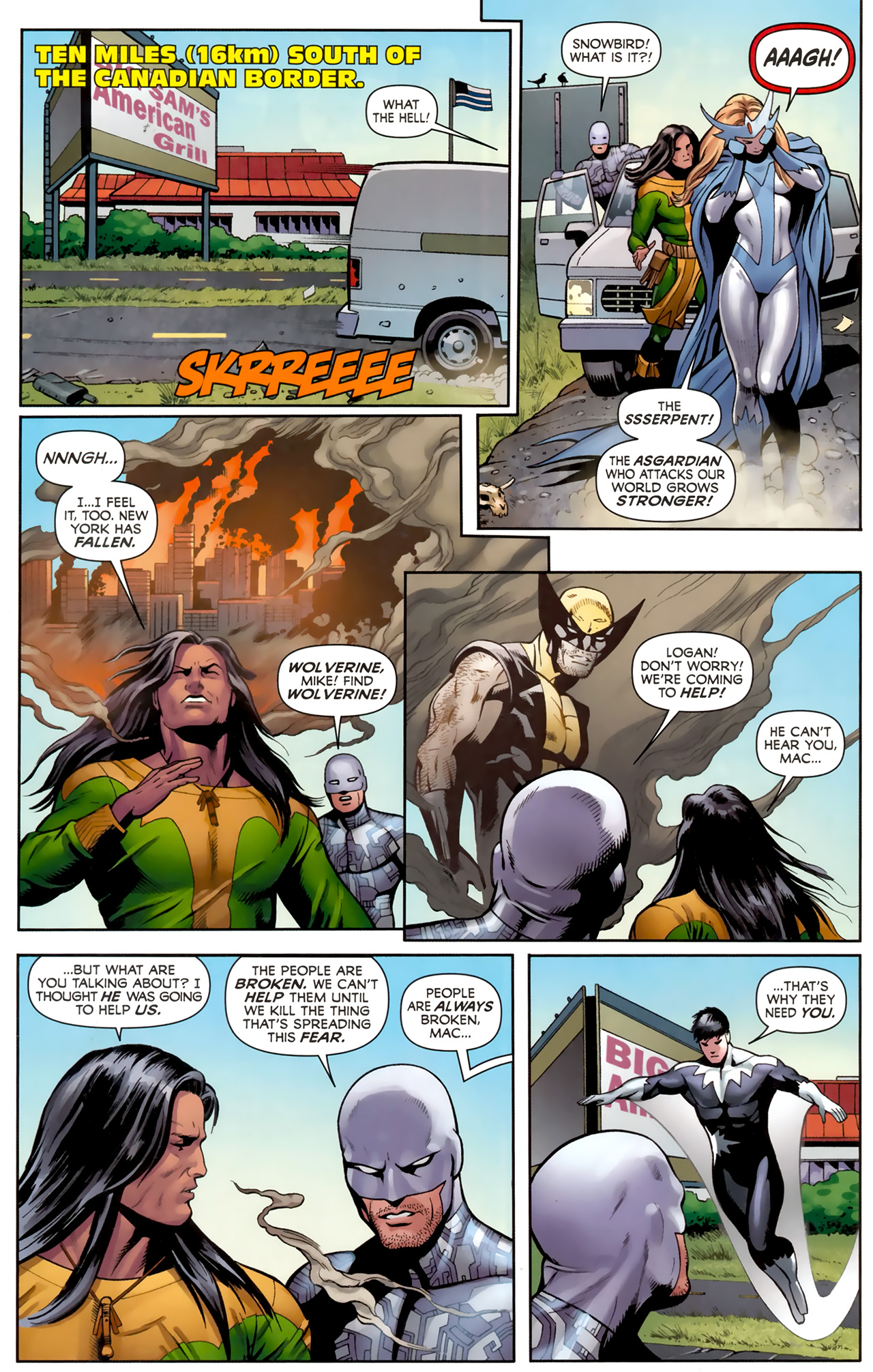 Read online Alpha Flight (2011) comic -  Issue #4 - 15