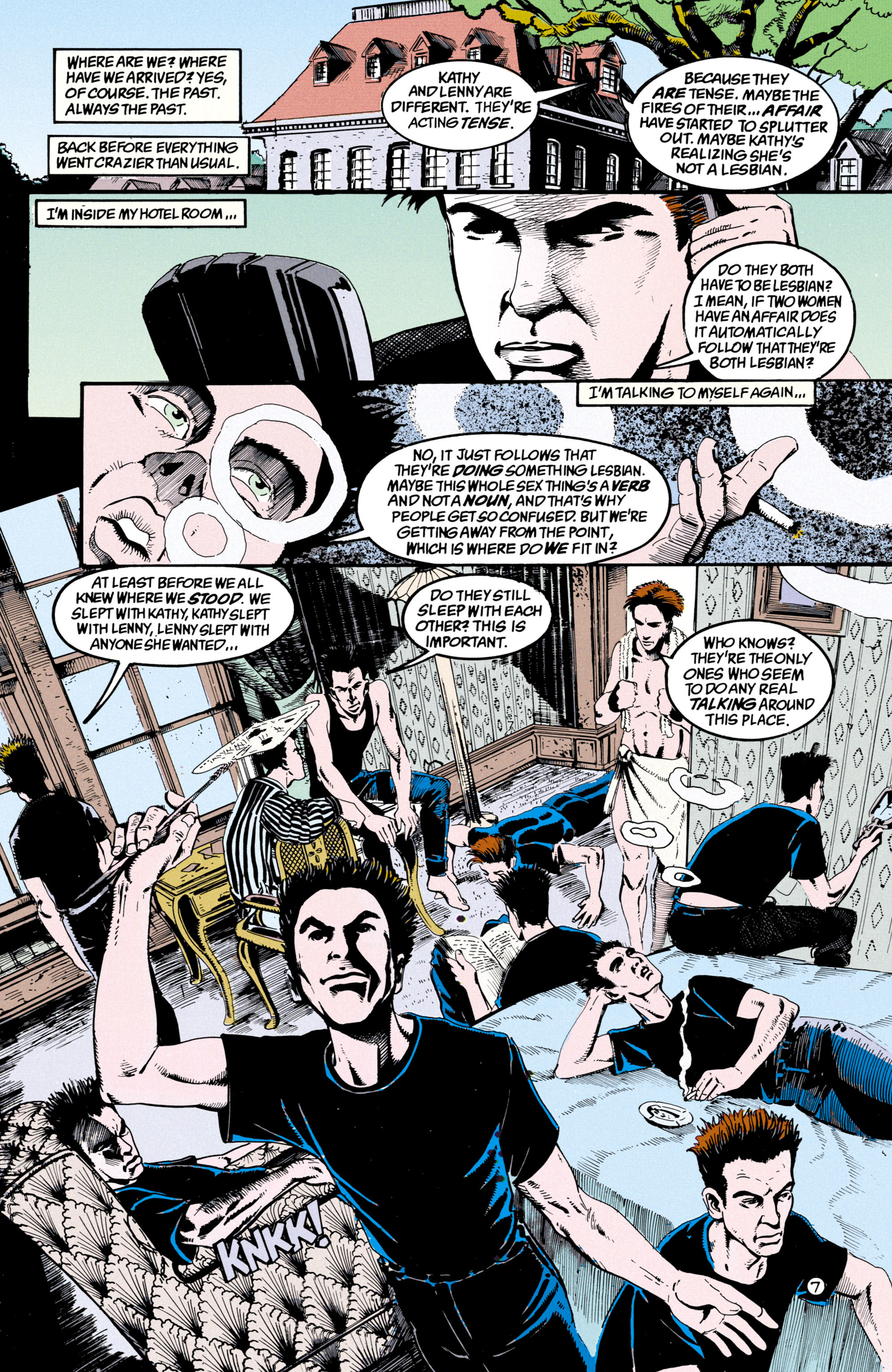 Read online Shade, the Changing Man comic -  Issue #36 - 8