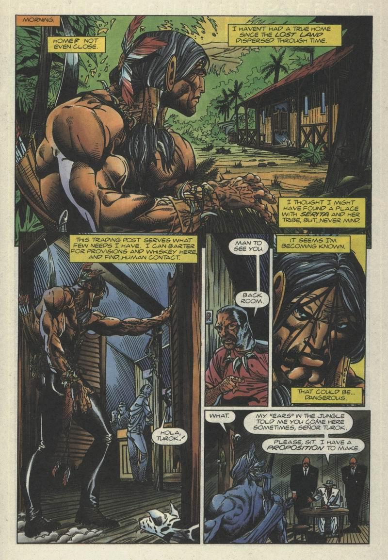 Read online Turok, Dinosaur Hunter (1993) comic -  Issue #2 - 9