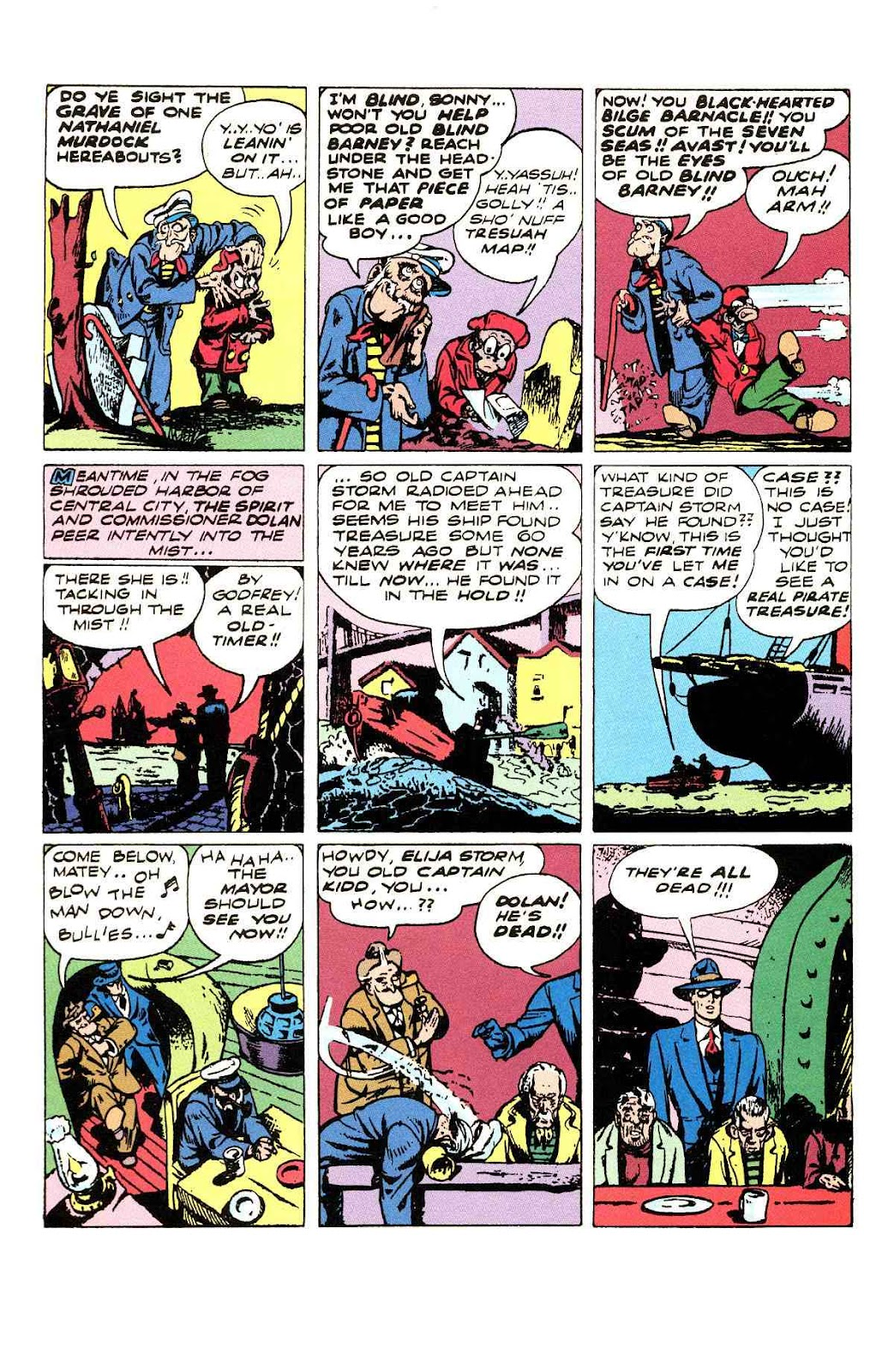 Read online Will Eisner's The Spirit Archives comic -  Issue # TPB 3 (Part 1) - 59