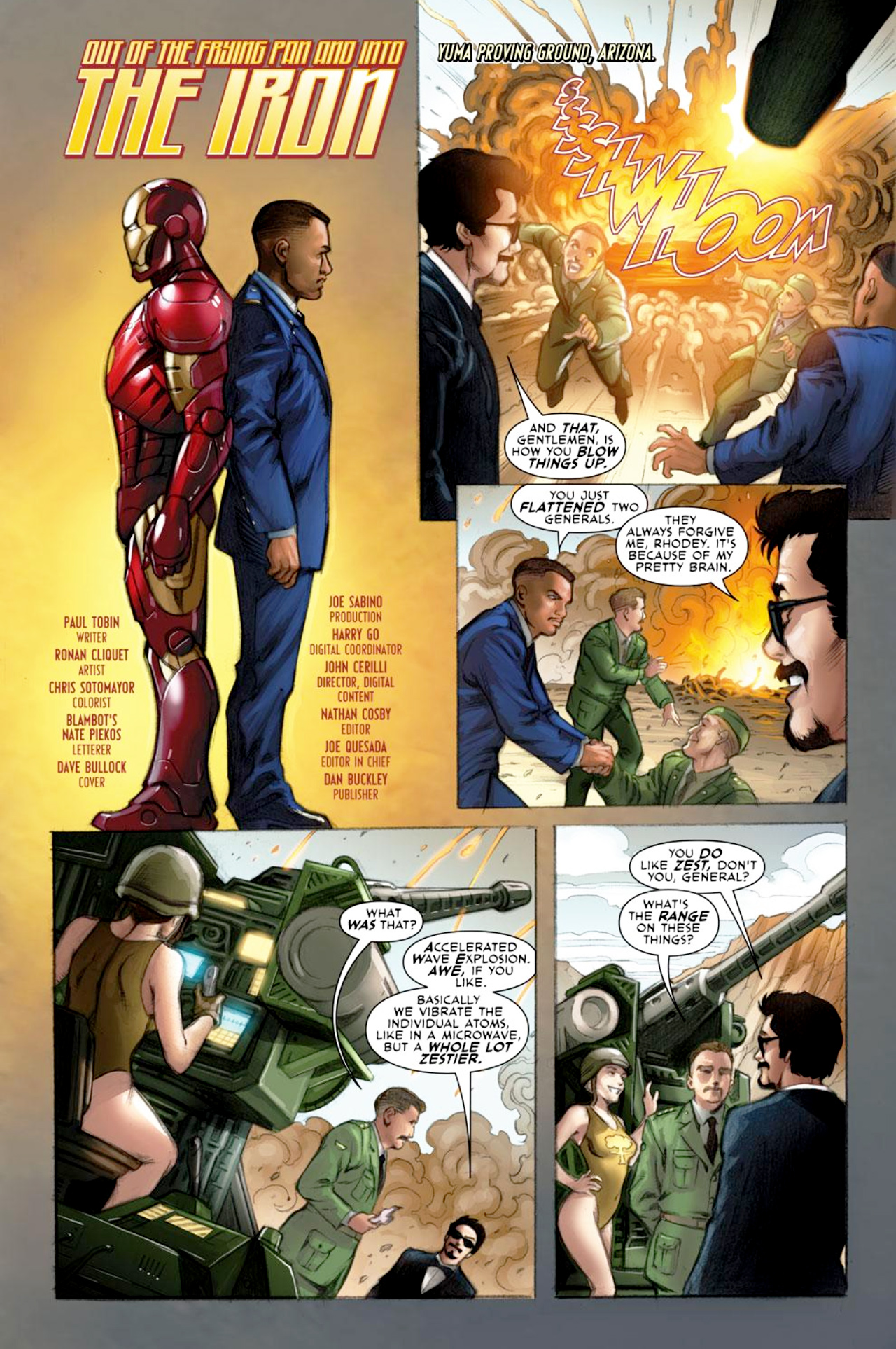 Read online Iron Man: Fast Friends comic -  Issue #1 - 2