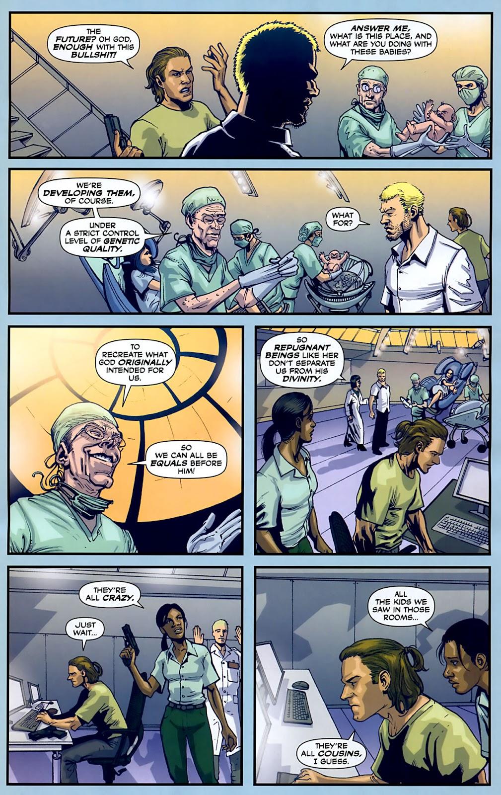 Read online Lazarus (2007) comic -  Issue #3 - 9