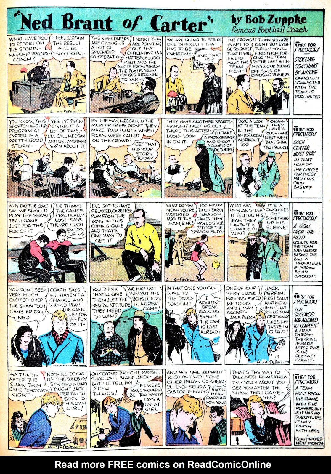 Read online Famous Funnies comic -  Issue #13 - 41