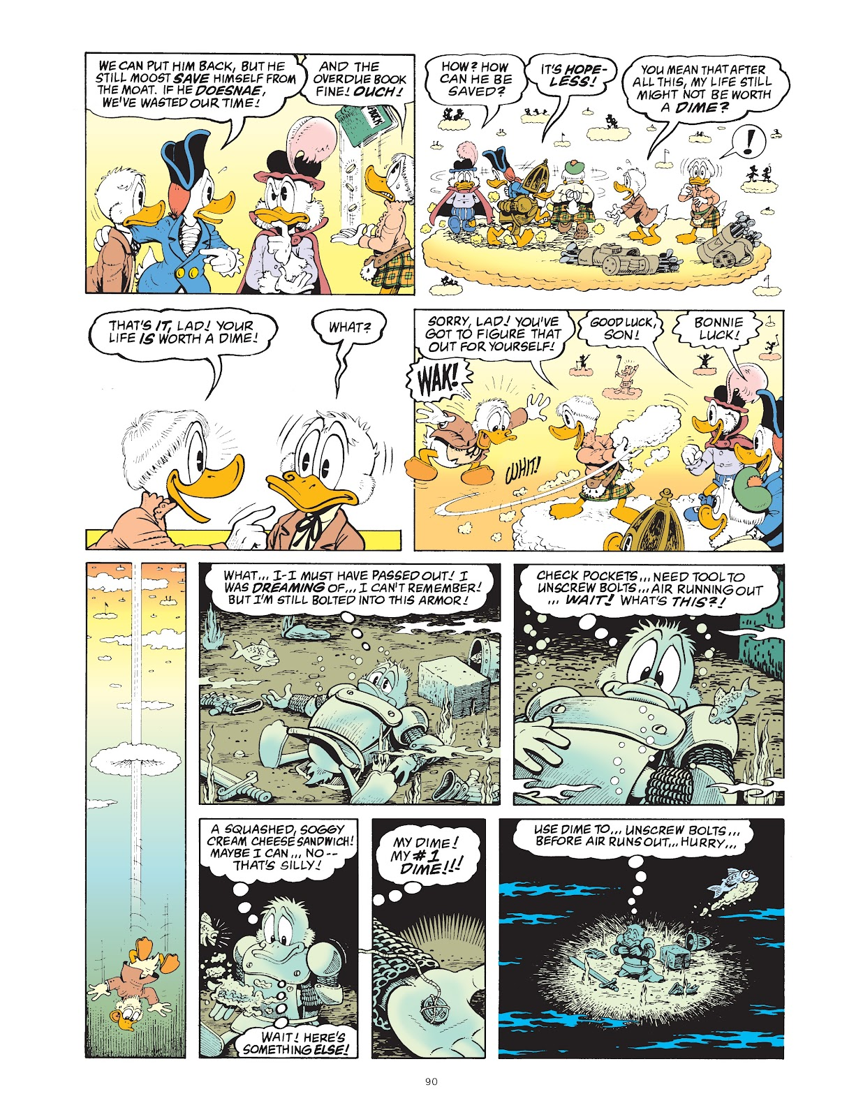 Read online The Complete Life and Times of Scrooge McDuck comic -  Issue # TPB 1 (Part 1) - 93