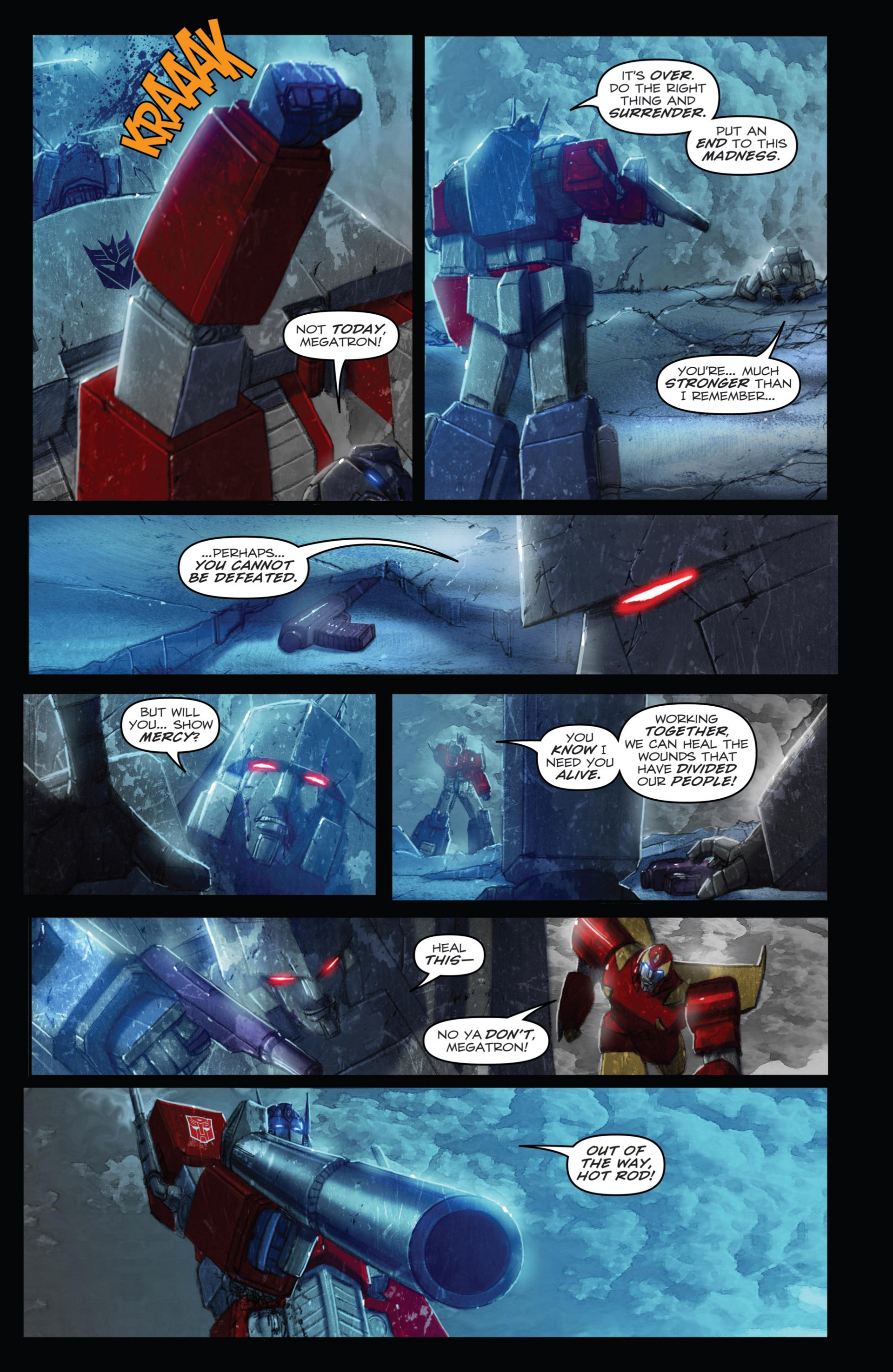 Read online Transformers: Autocracy comic -  Issue # Full - 113