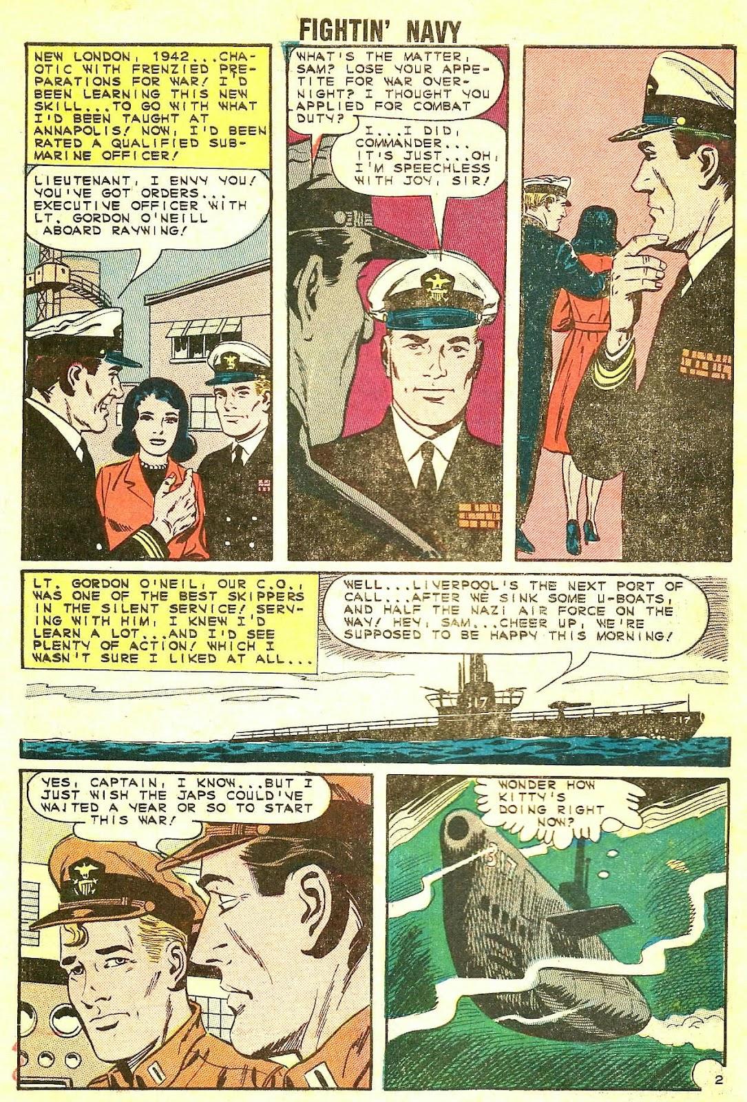 Read online Fightin' Navy comic -  Issue #115 - 10