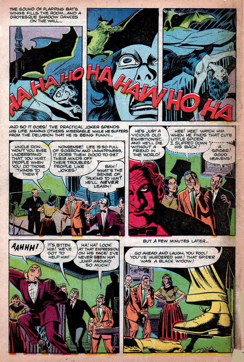 Read online Adventures into Weird Worlds comic -  Issue #15 - 11