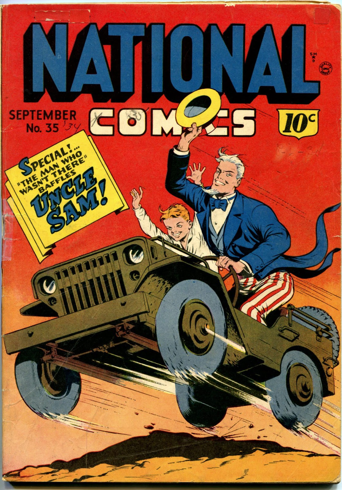 National Comics (1940) issue 35 - Page 1