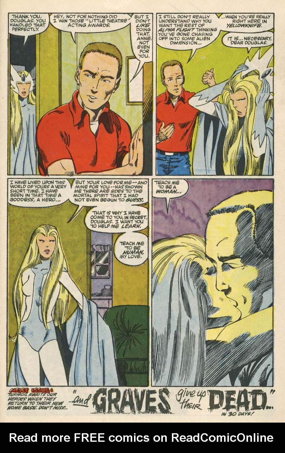 Read online Alpha Flight (1983) comic -  Issue #24 - 37