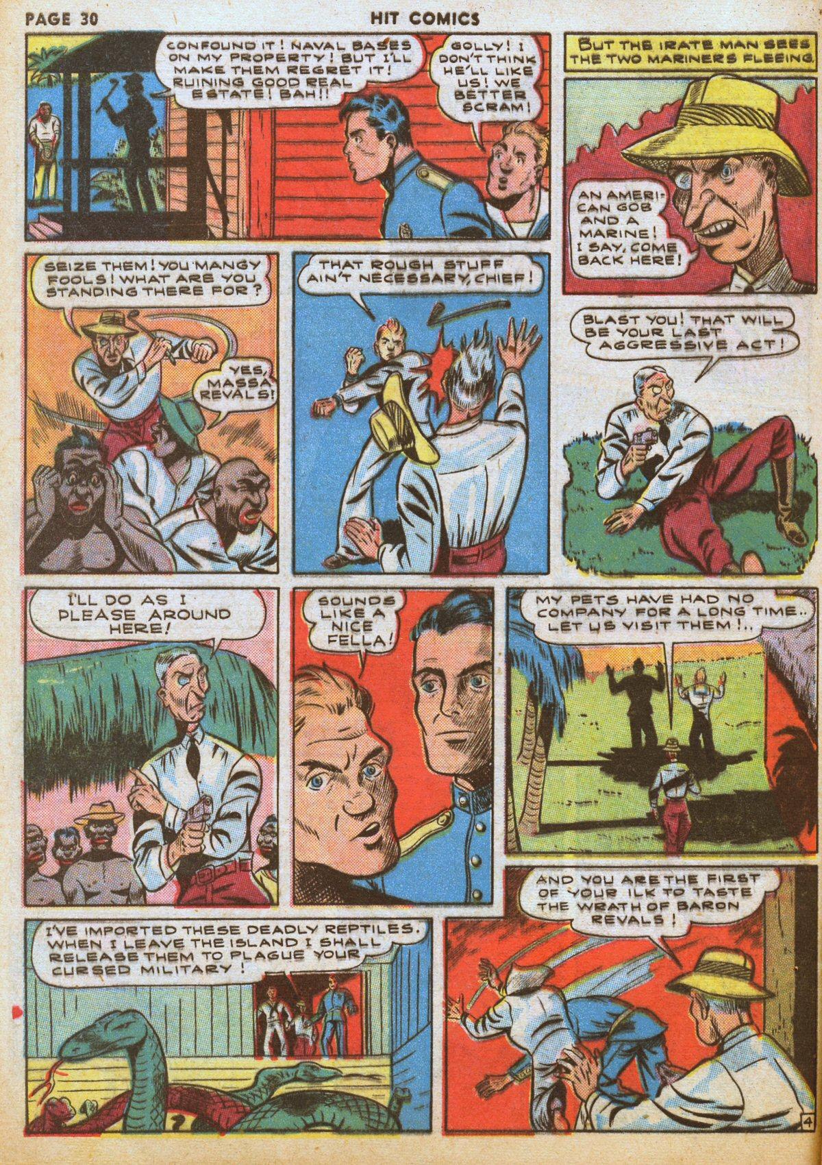 Read online Hit Comics comic -  Issue #12 - 32