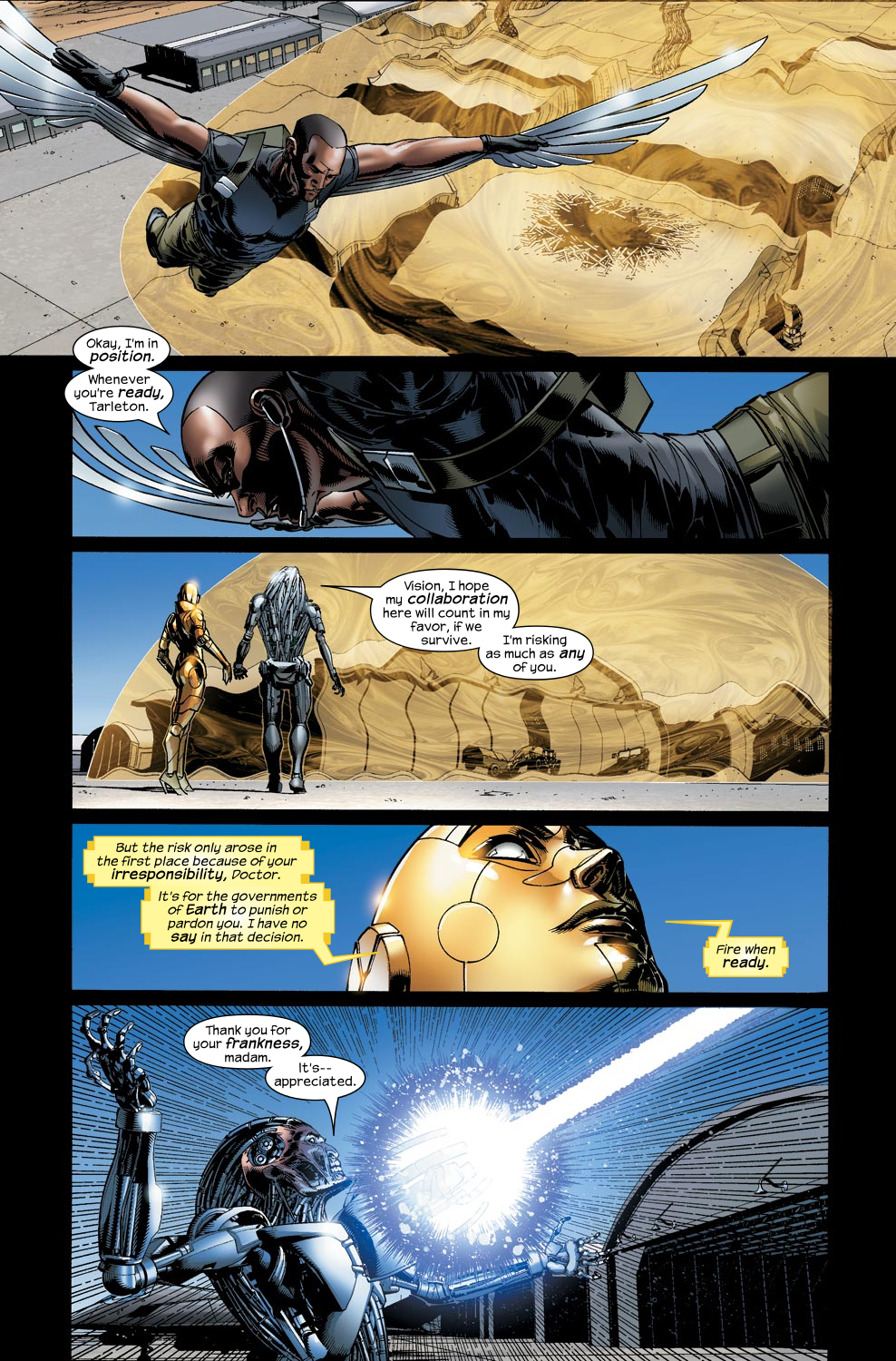 Read online Ultimate Vision comic -  Issue #5 - 12