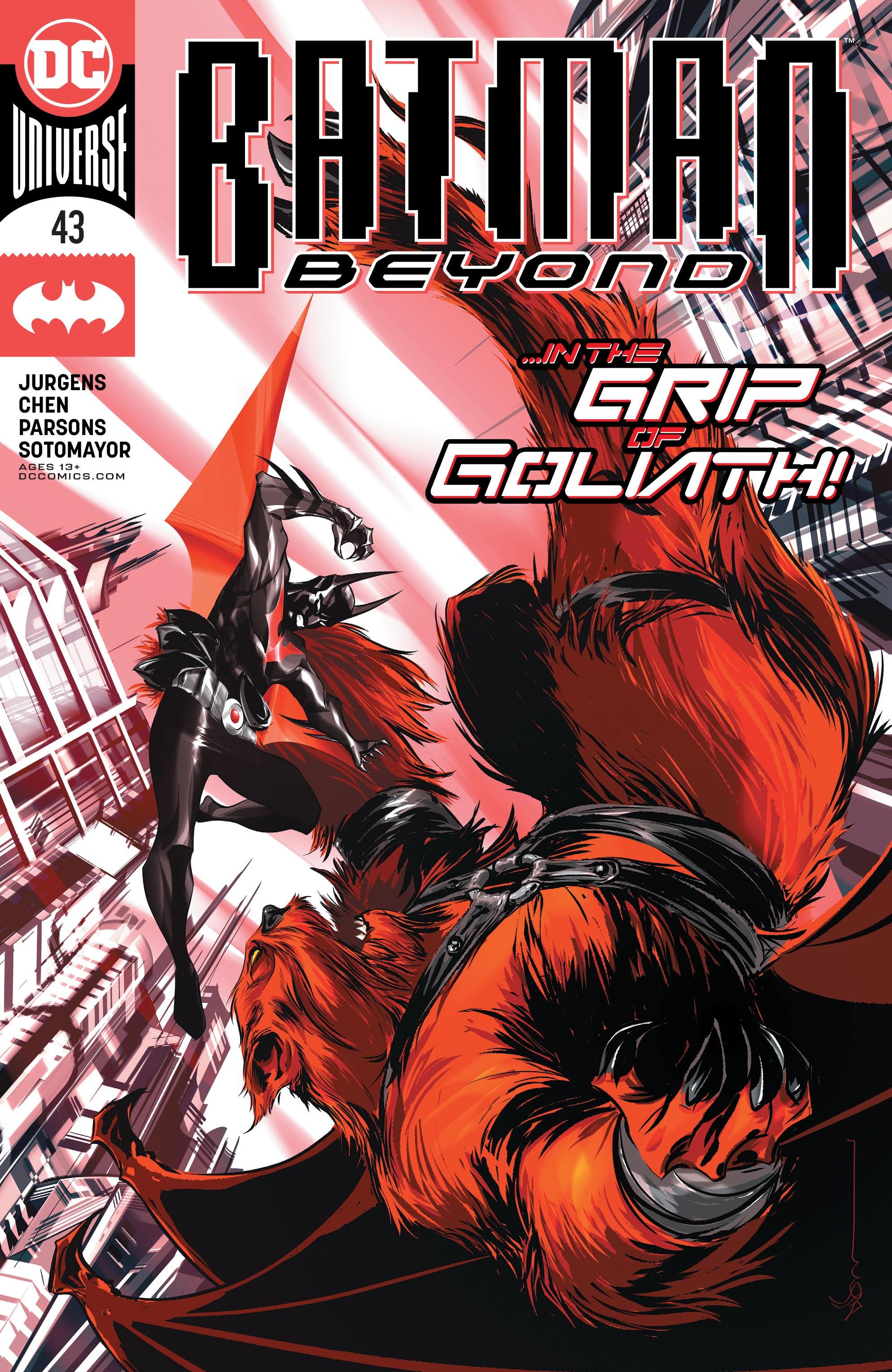 Batman Beyond (2016) 43 Page 1