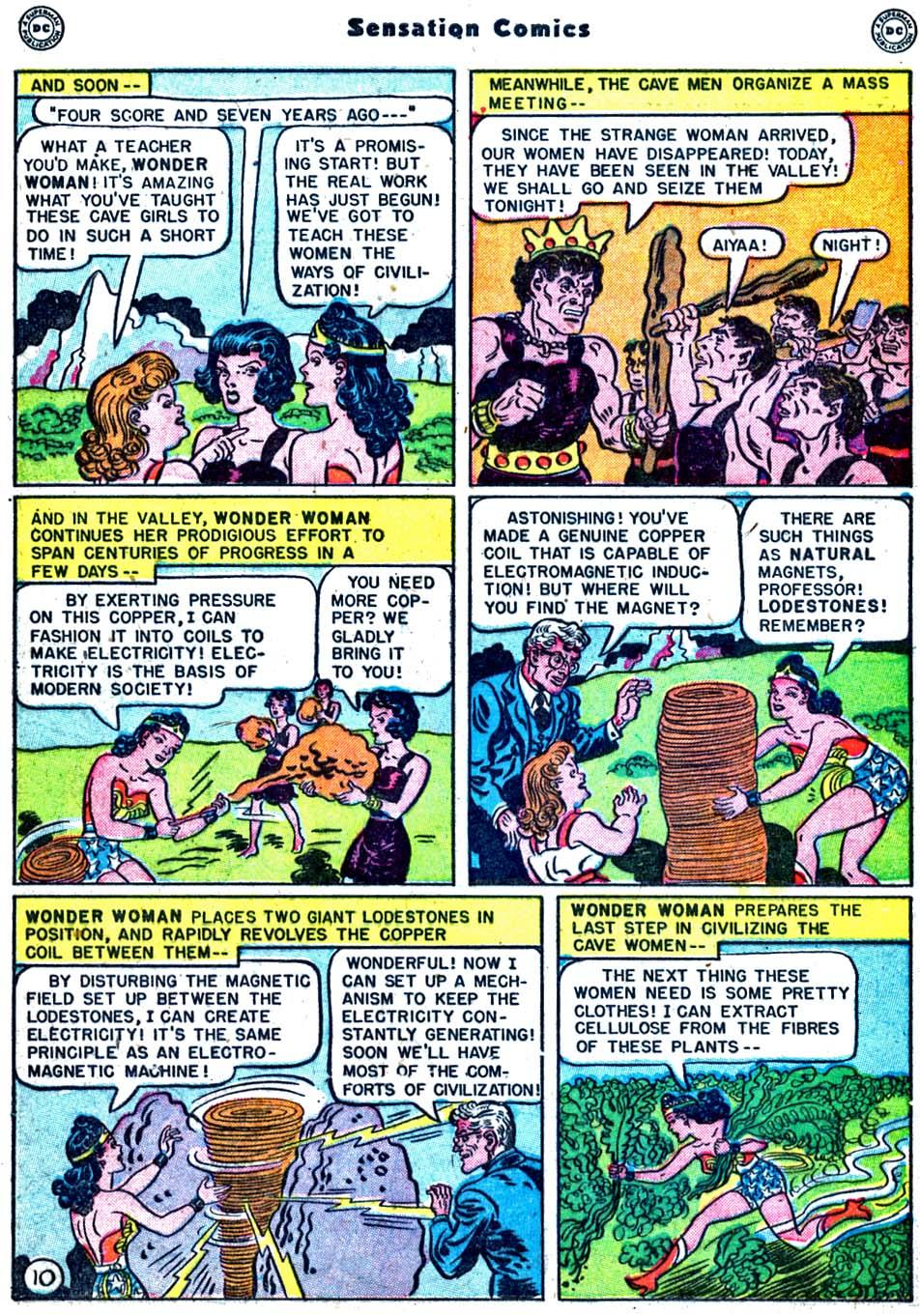 Read online Sensation (Mystery) Comics comic -  Issue #91 - 12
