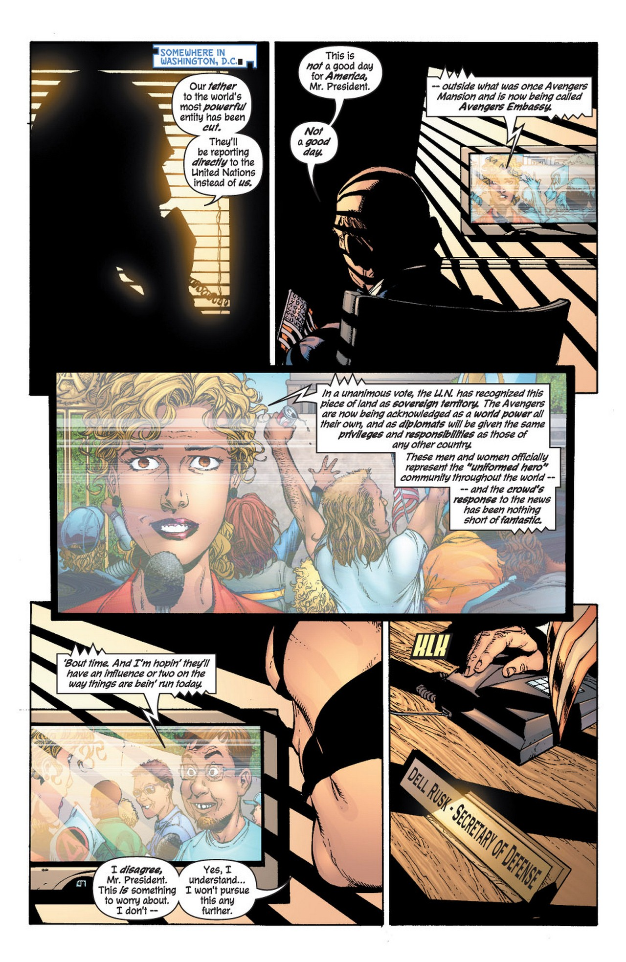 Read online Avengers (1998) comic -  Issue #61 - 2