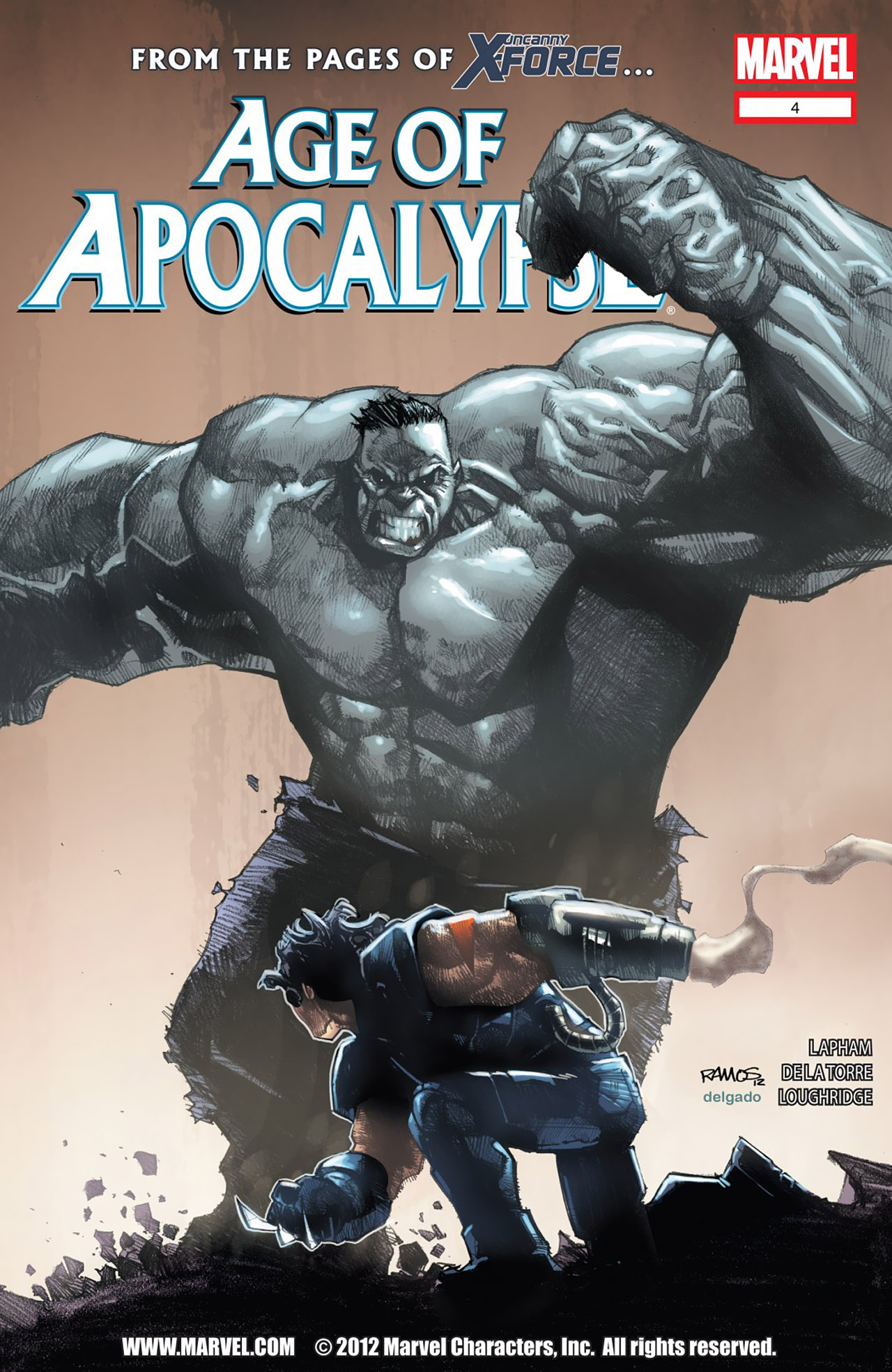 Read online Age of Apocalypse (2012) comic -  Issue #4 - 1