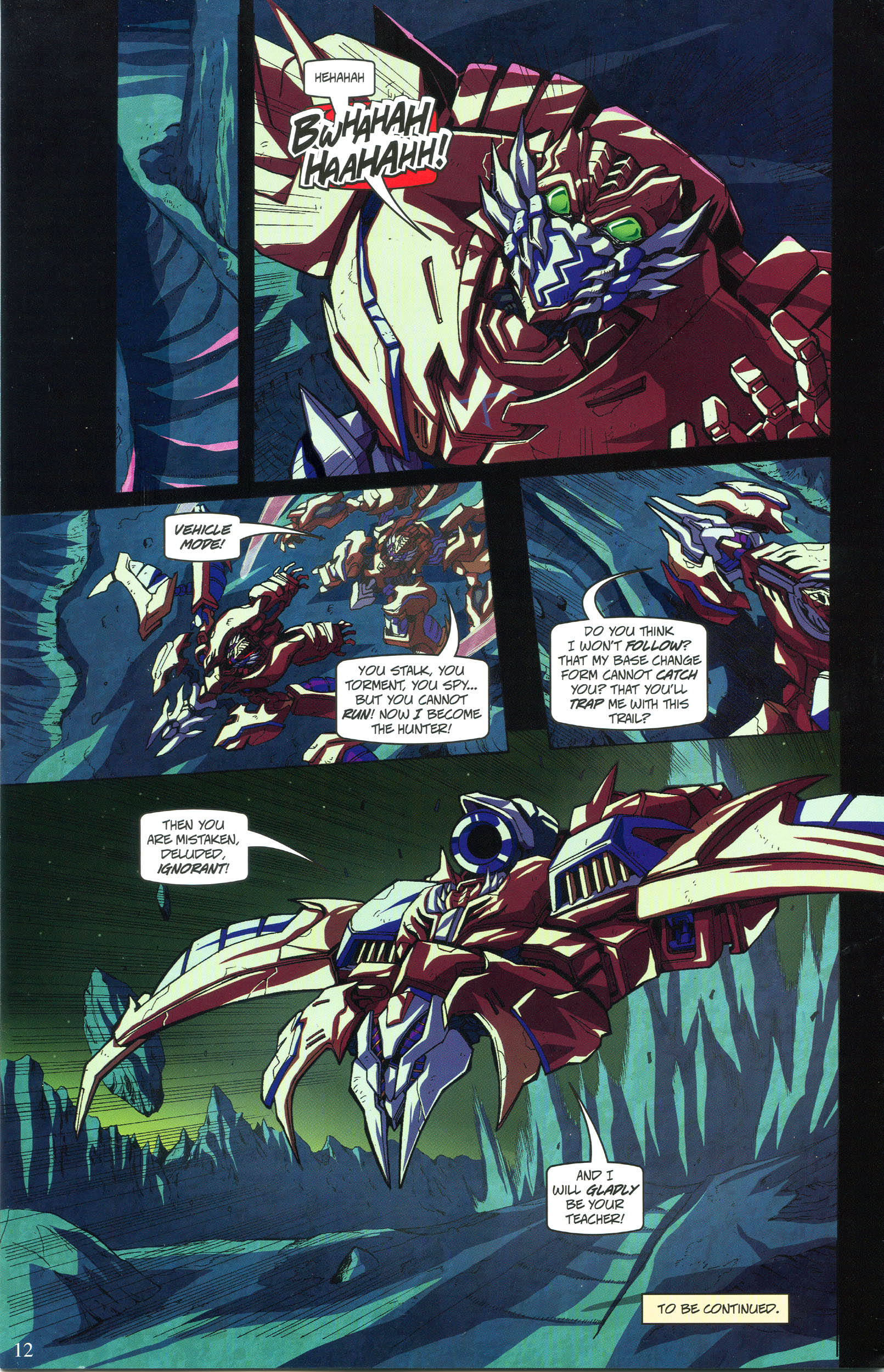 Read online Transformers: Collectors' Club comic -  Issue #56 - 12