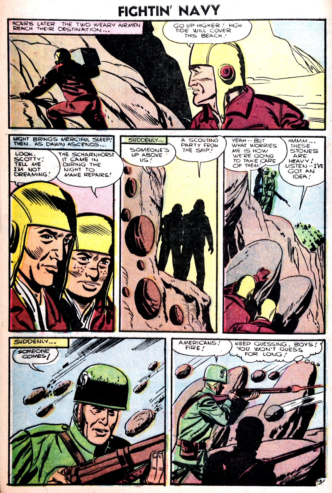 Read online Fightin' Navy comic -  Issue #75 - 8