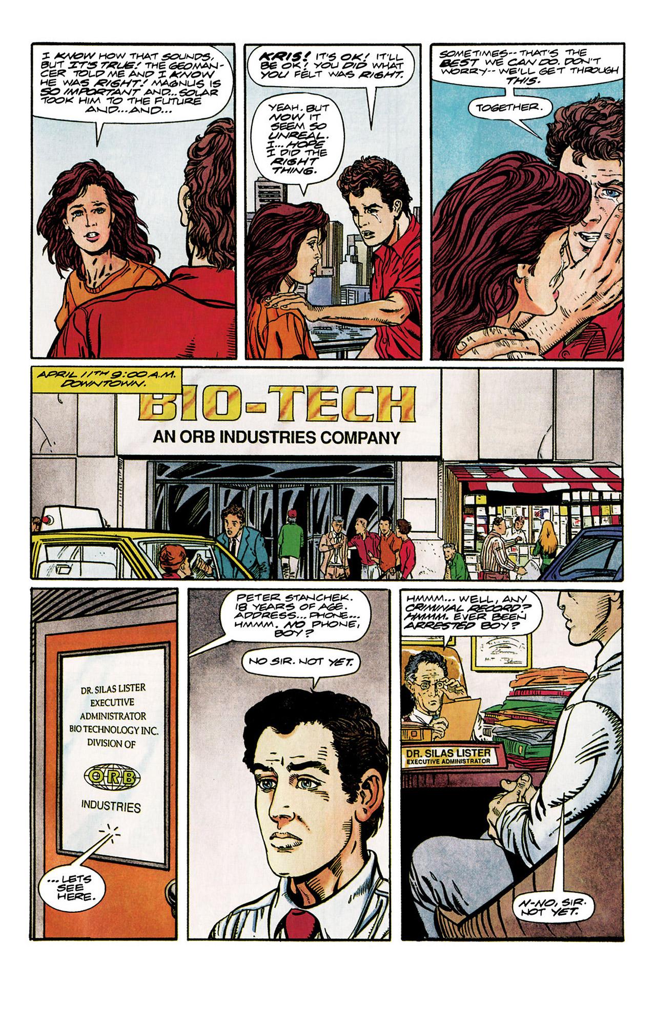 Read online Harbinger (1992) comic -  Issue #10 - 9